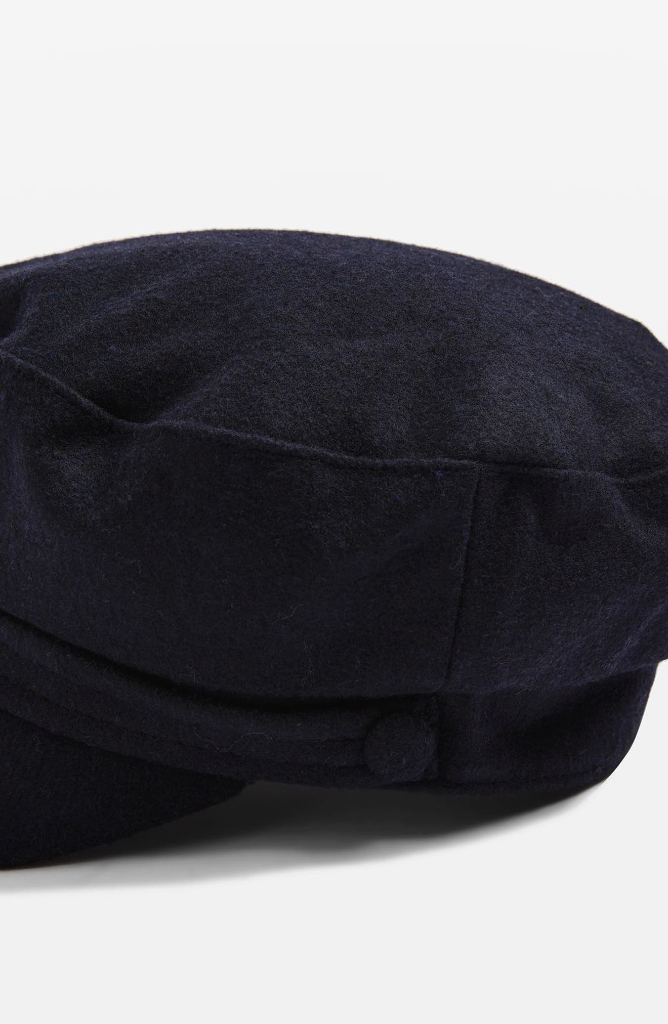 Alternate Image 3  - Topshop Baker Boy Cap