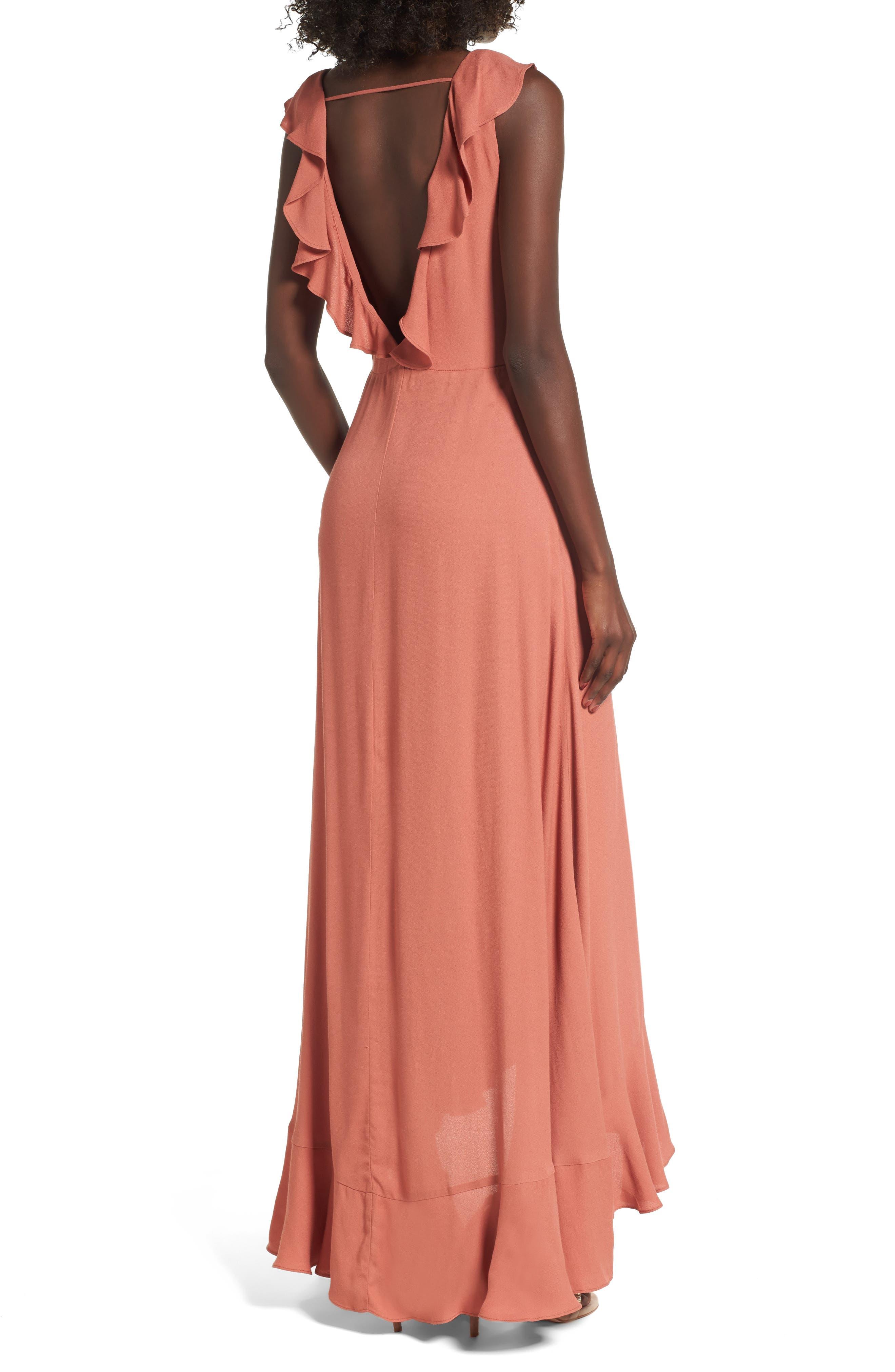 Alternate Image 2  - AFRM Wade Wrap Maxi Dress