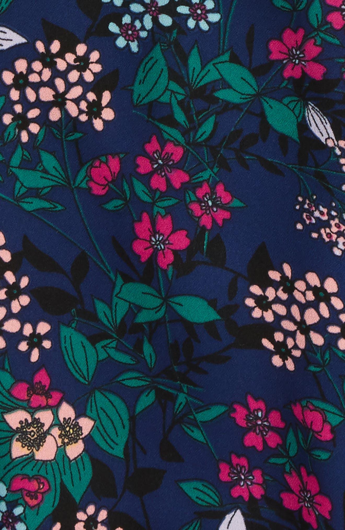 Emma Dress,                             Alternate thumbnail 2, color,                             Navy