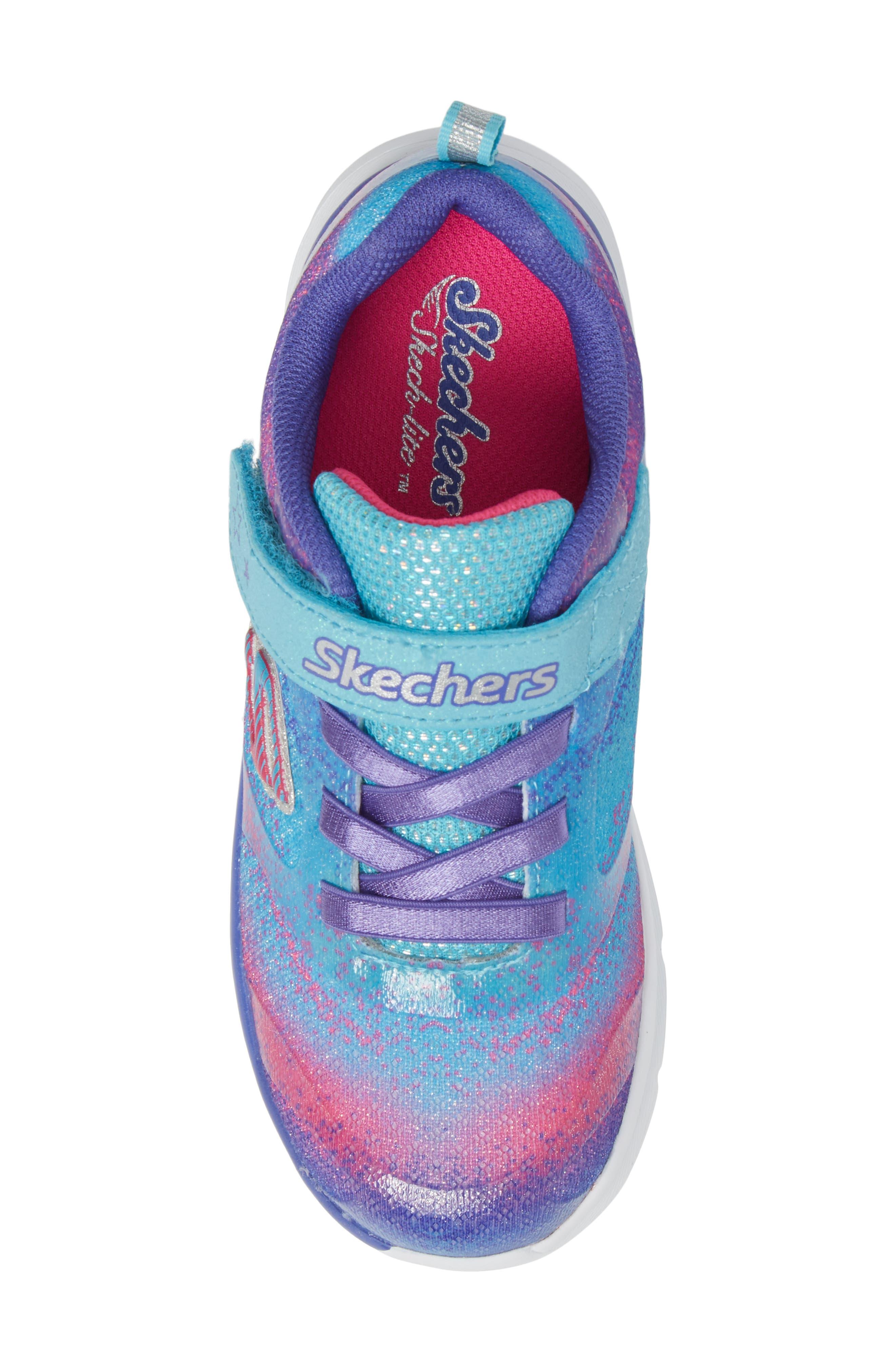 Alternate Image 5  - SKECHERS Skech-Lite Colorful Cutie Sneaker (Walker & Toddler)