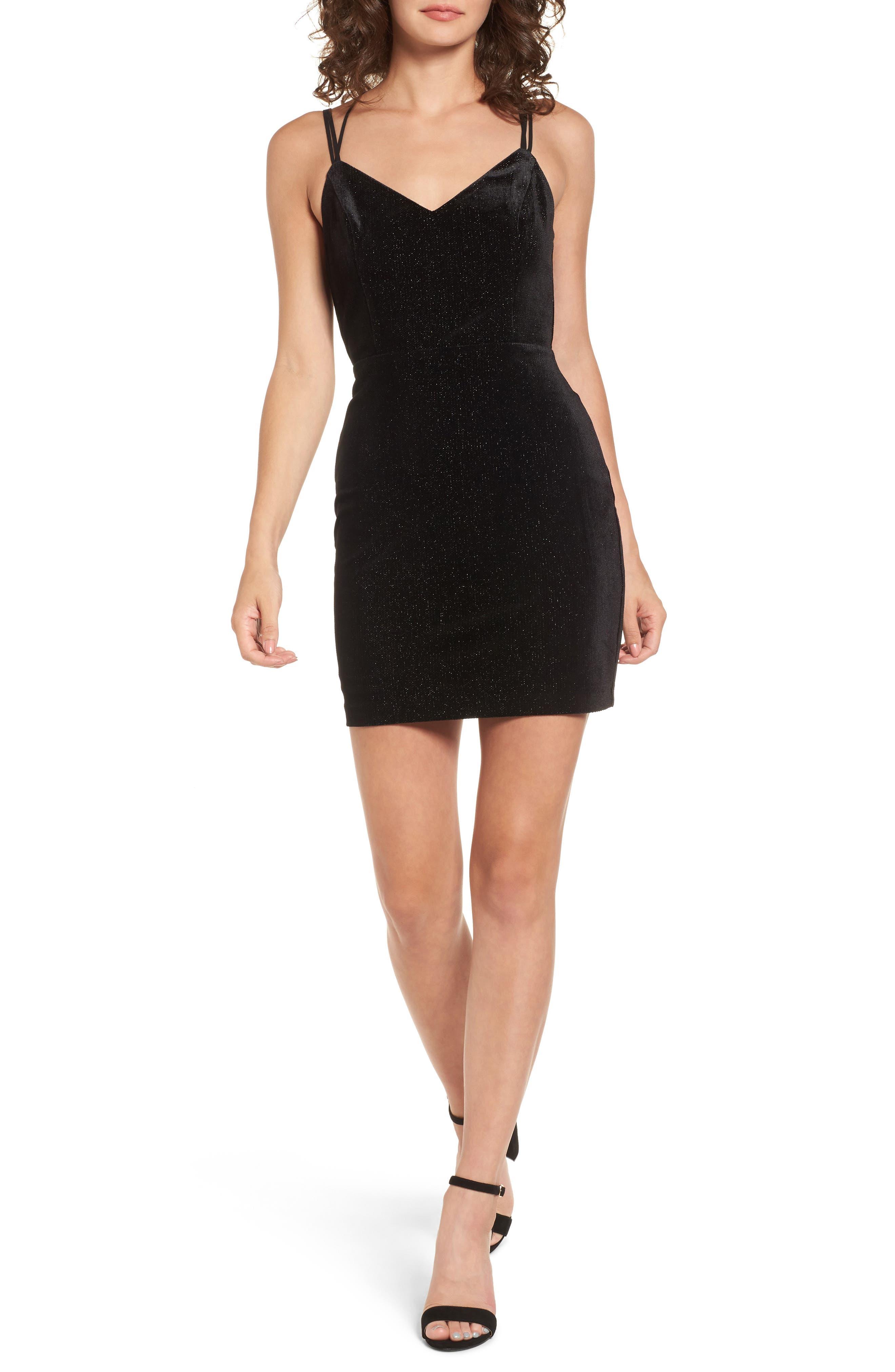 LUSH Strappy Body-Con Dress