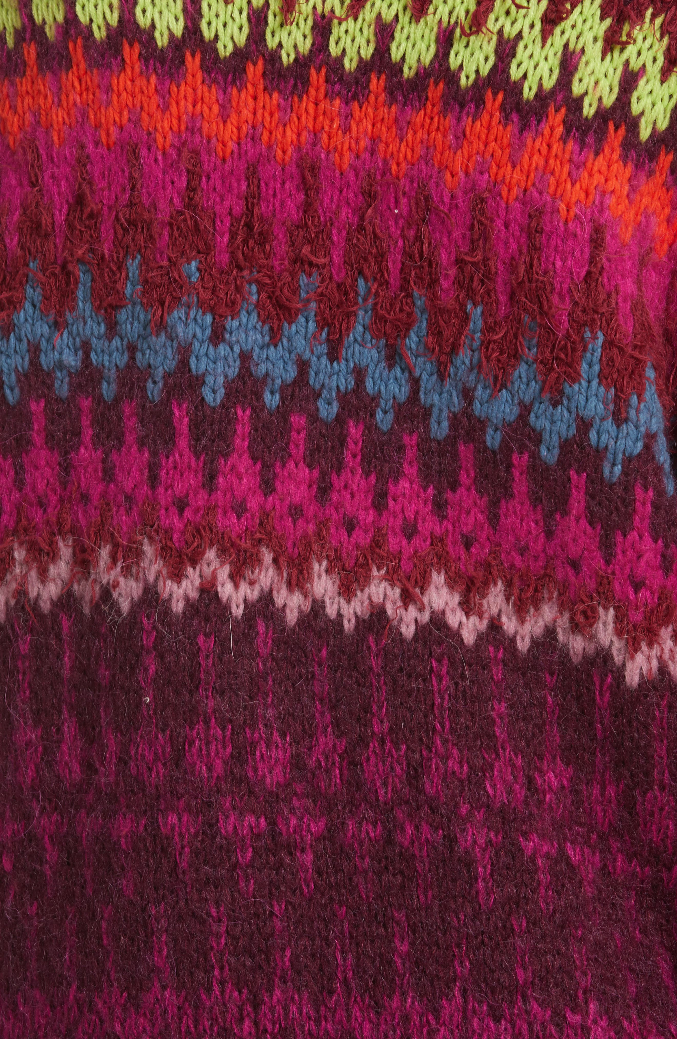 Castles in the Sky Sweater,                             Alternate thumbnail 5, color,                             Multi