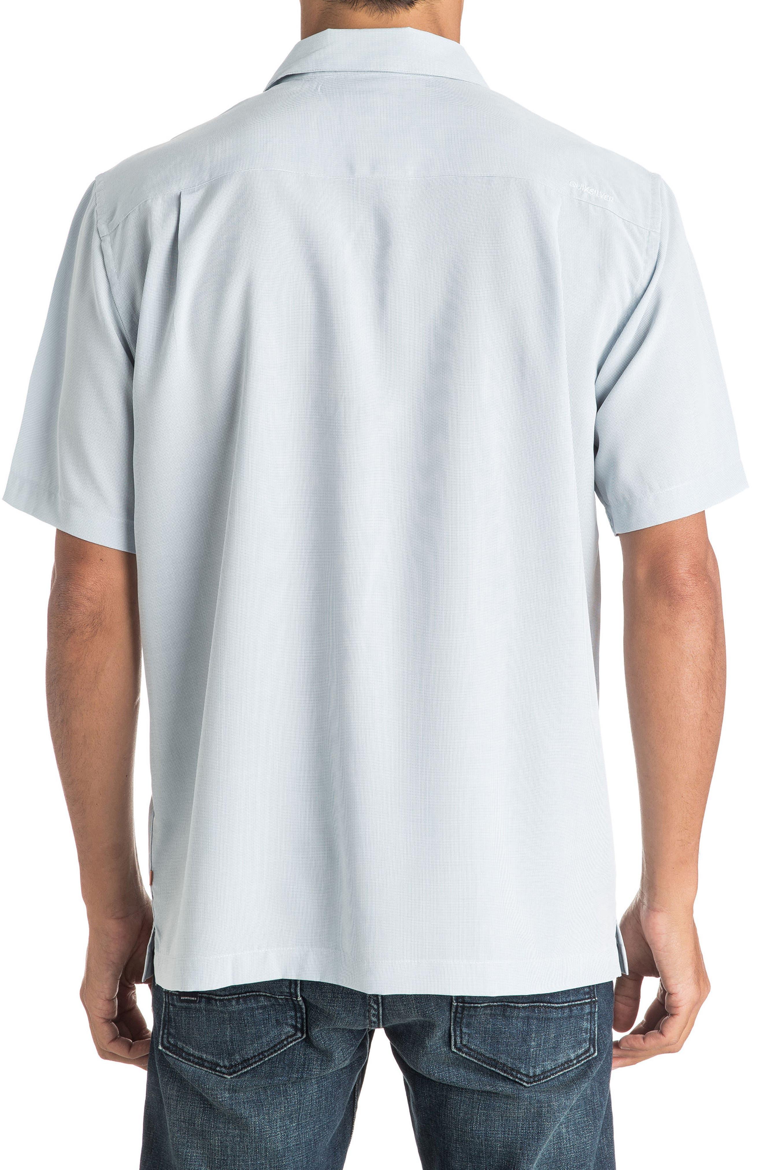 Alternate Image 2  - Quiksilver Waterman Collection 'Cane Island' Regular Fit Short Sleeve Sport Shirt