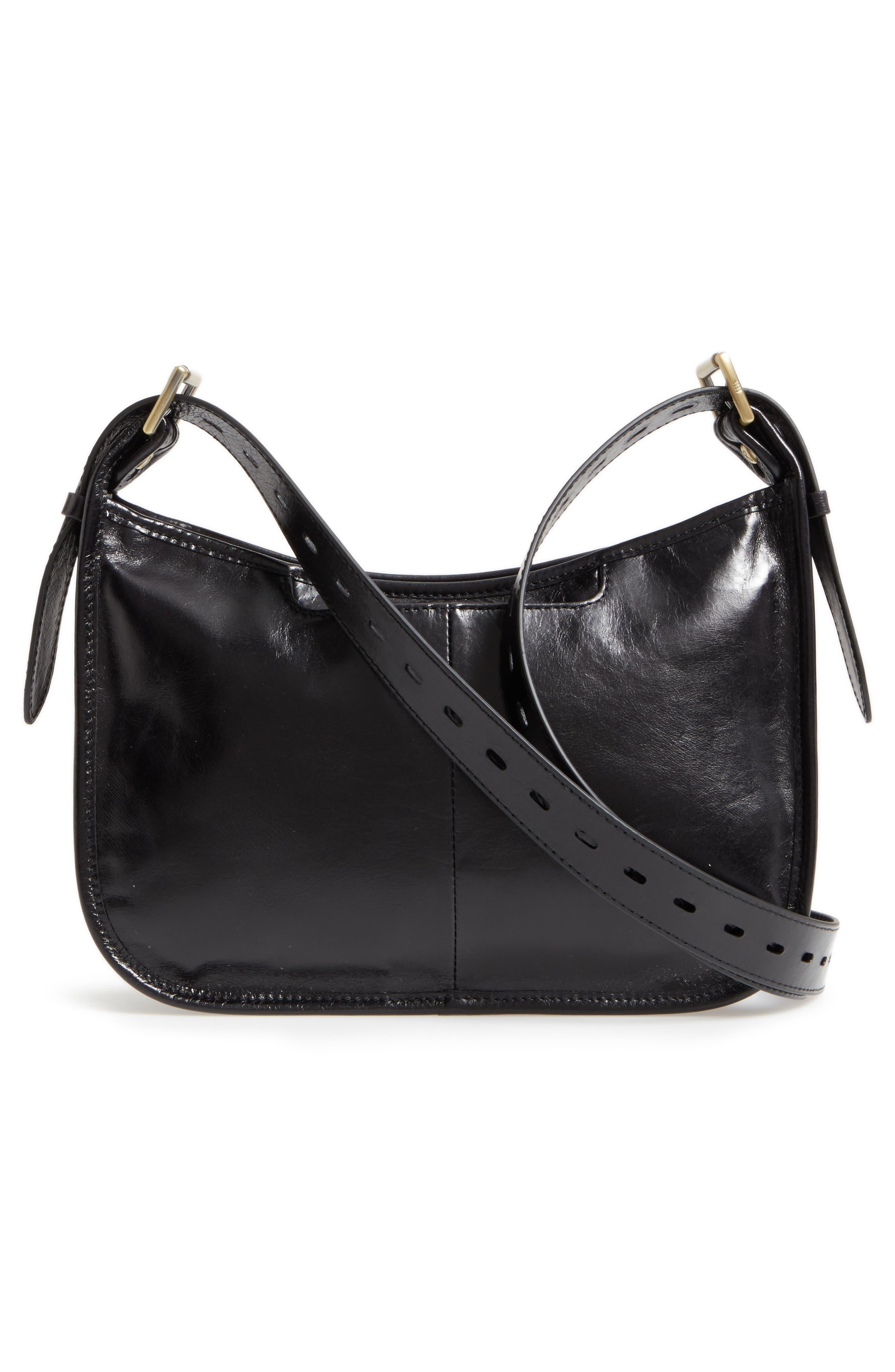 Chase Calfskin Leather Crossbody Bag,                             Alternate thumbnail 2, color,                             Black