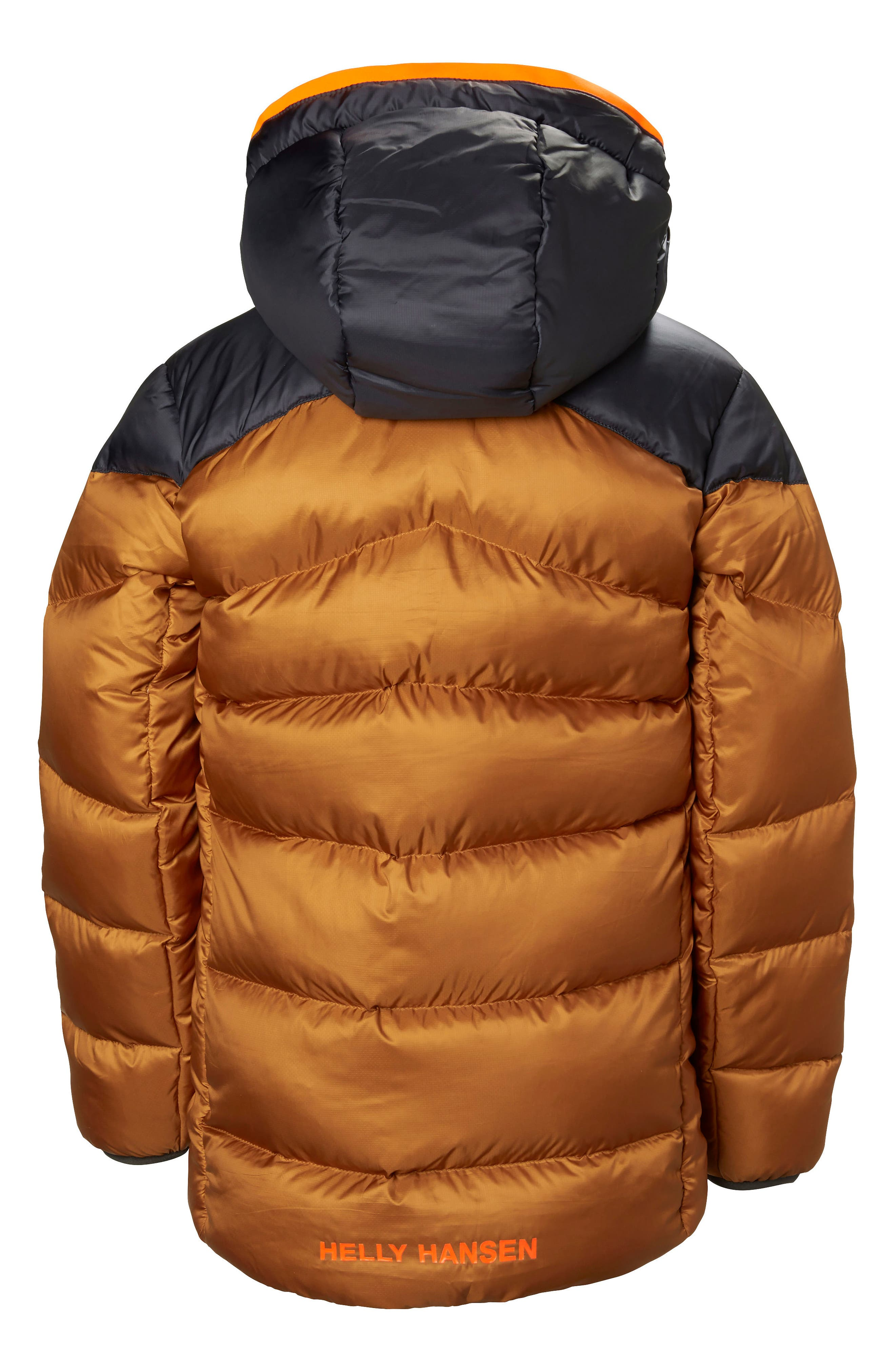 Fjord Water Resistant Puffer Jacket,                             Alternate thumbnail 2, color,                             Cinnamon