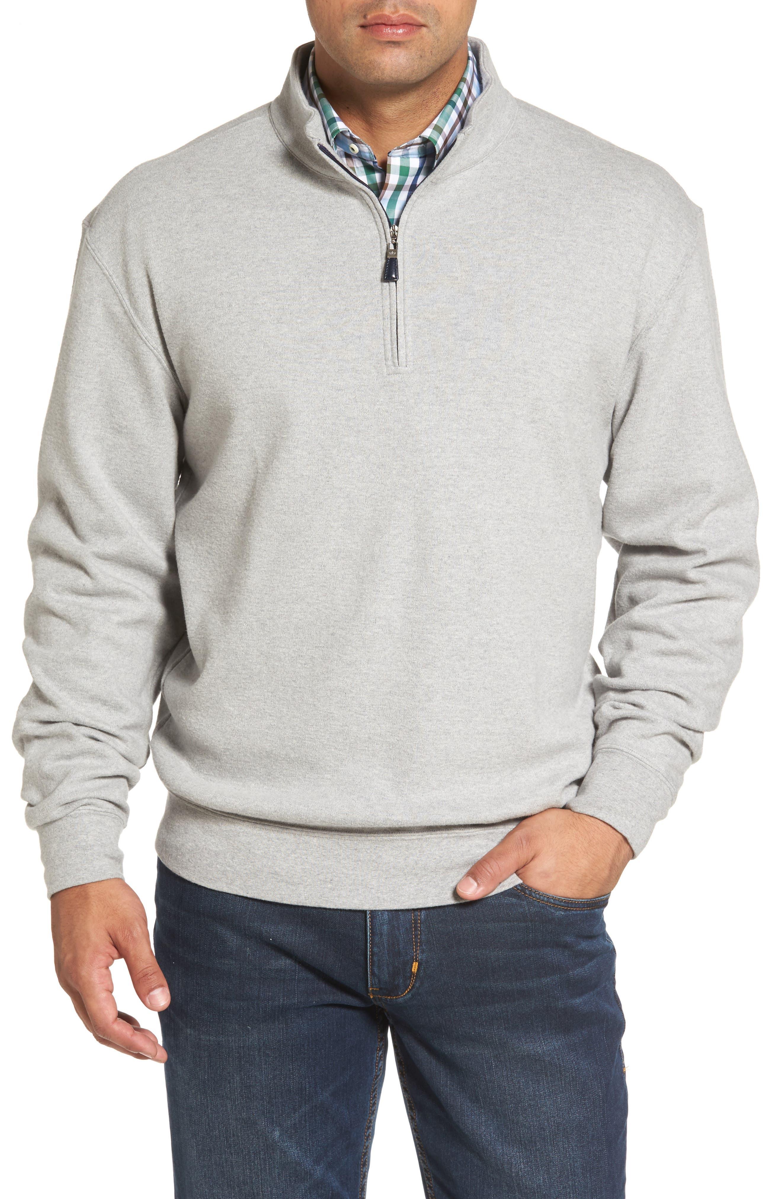 Peter Millar Mélange Quarter Zip Pullover