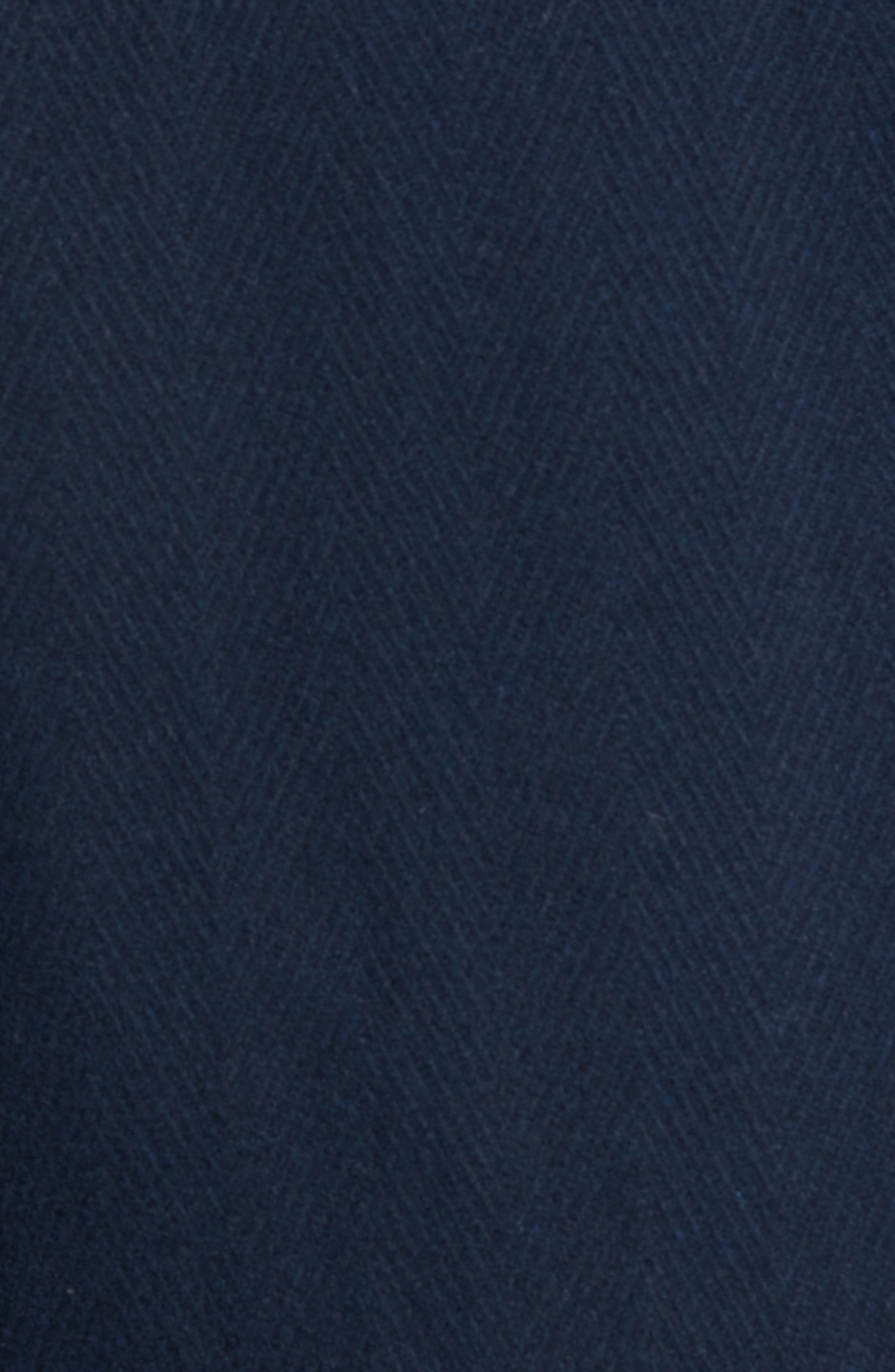 Alternate Image 5  - Marc New York Herringbone Wool Blend Car Coat