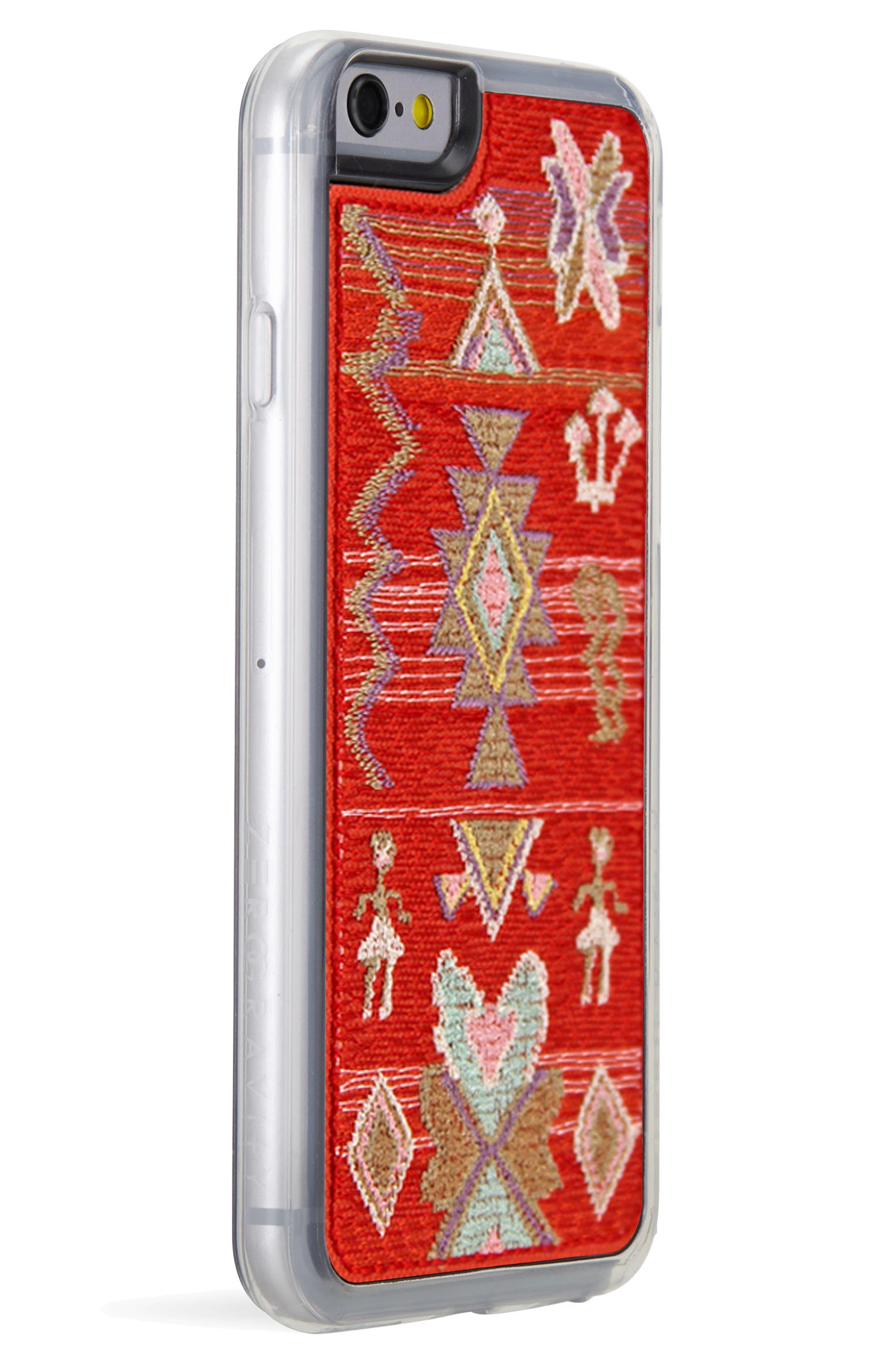 x Rocky Barnes Sahara iPhone 6/6s/7/8 & 6/6s/7/8 Plus Case,                             Alternate thumbnail 2, color,                             Red