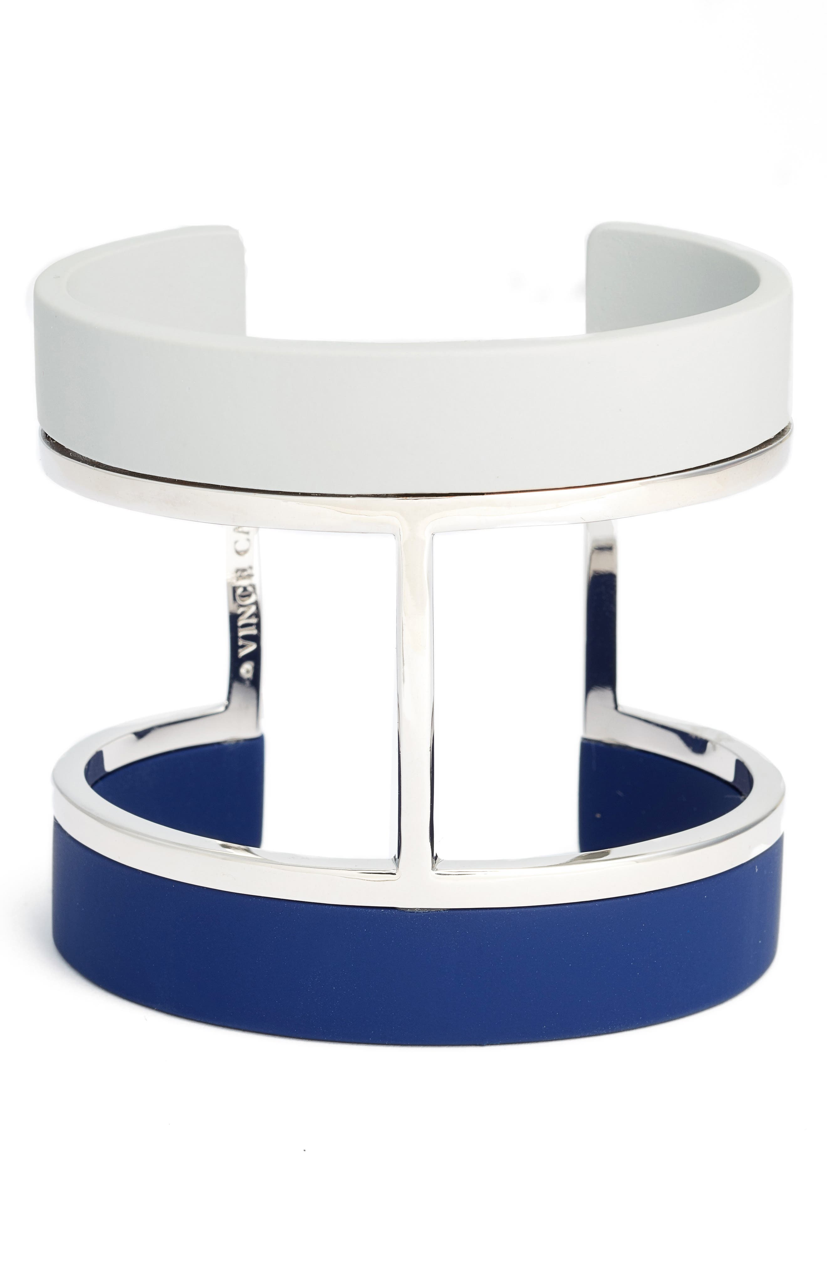 Main Image - Vince Camuto Colorblocked Wide Cuff