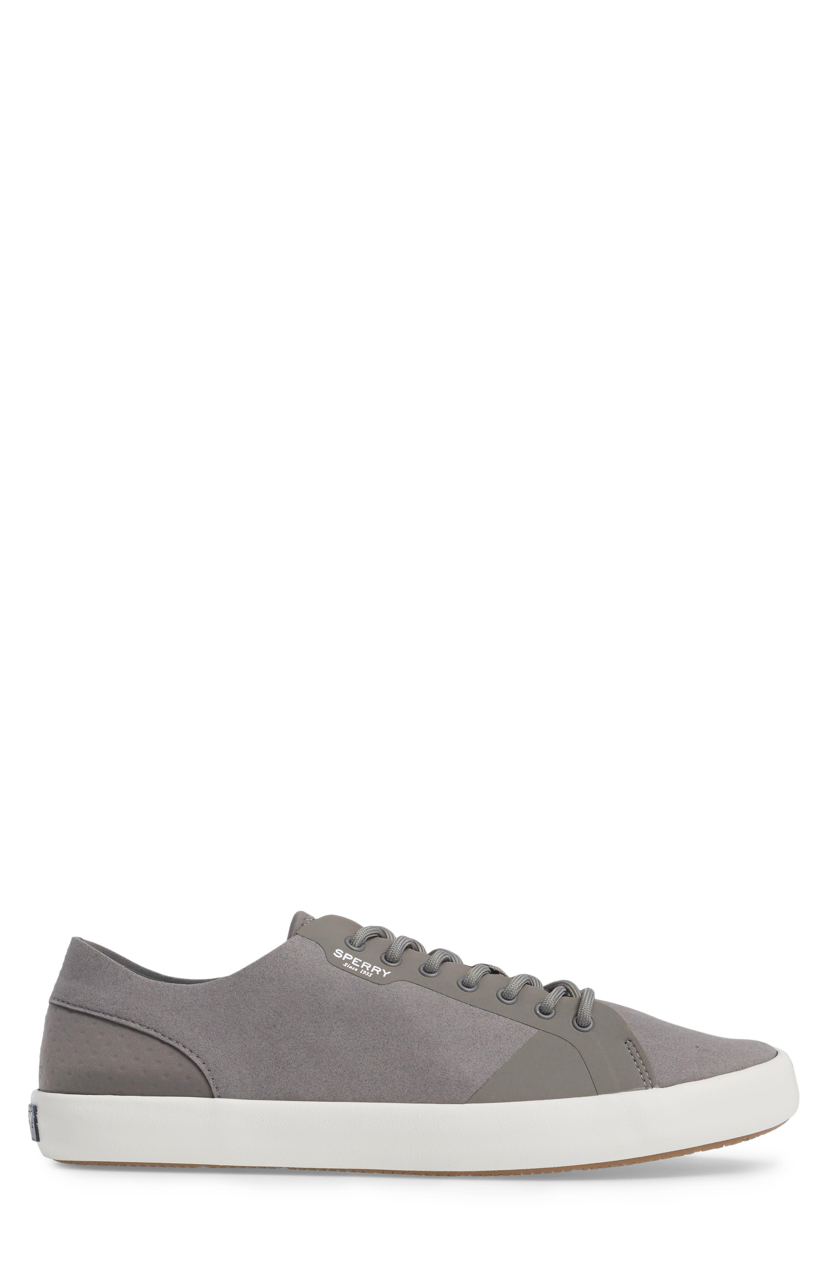 Flex Deck LTT Sneaker,                             Alternate thumbnail 3, color,                             Grey