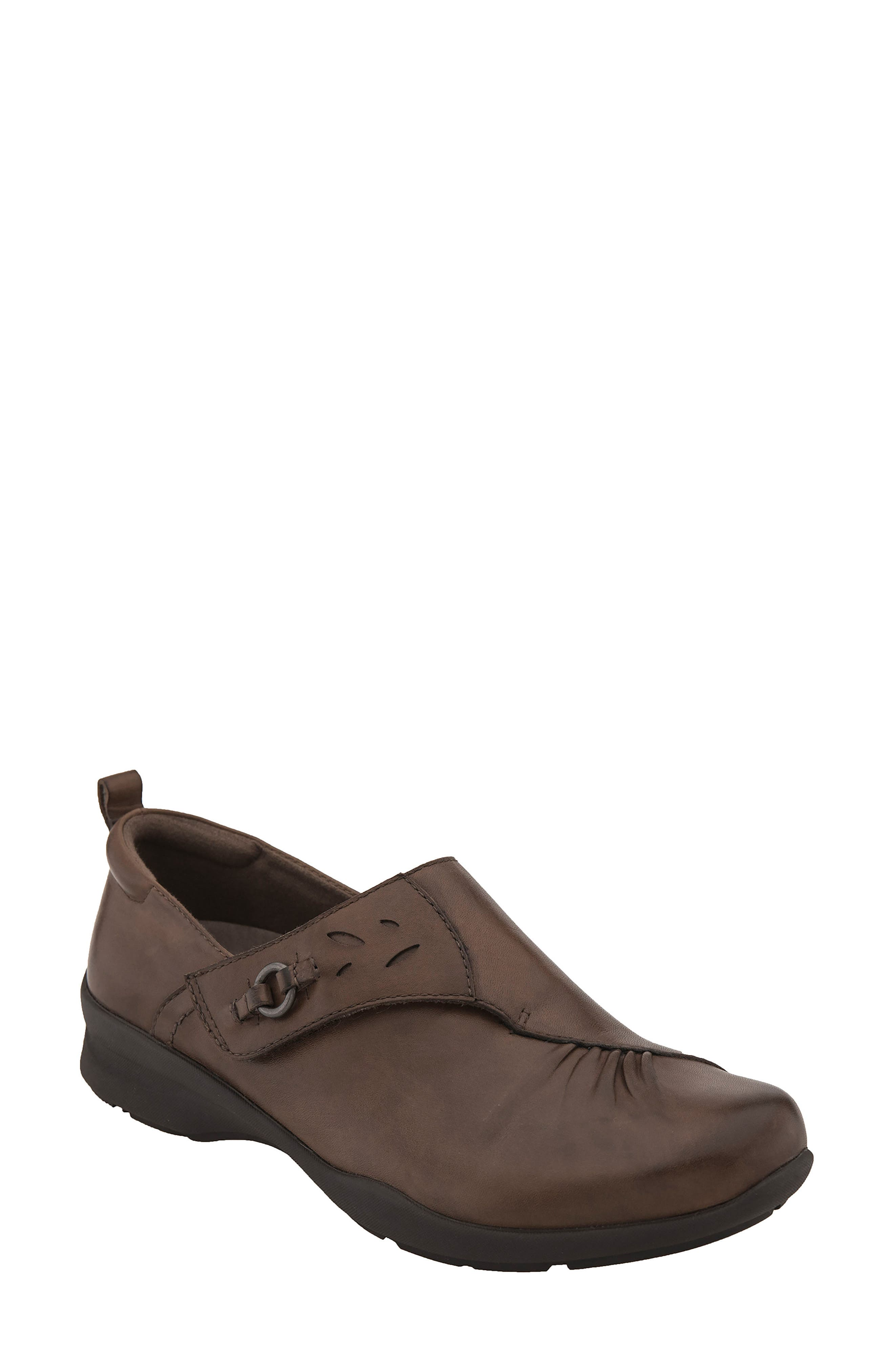 Amity Loafer,                         Main,                         color, Almond Leather