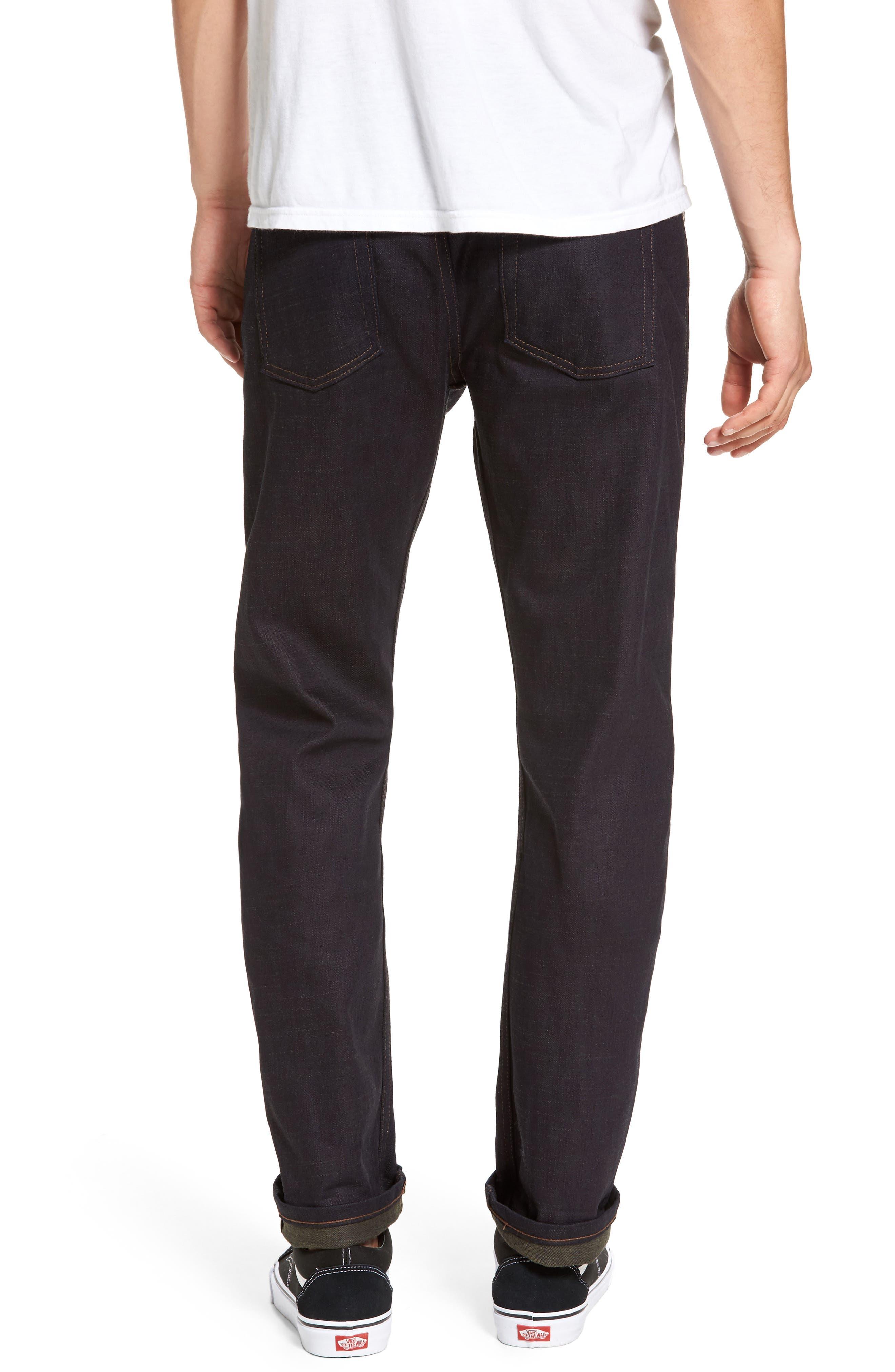 Alternate Image 2  - Naked & Famous Denim Weird Guy Slim Fit Jeans