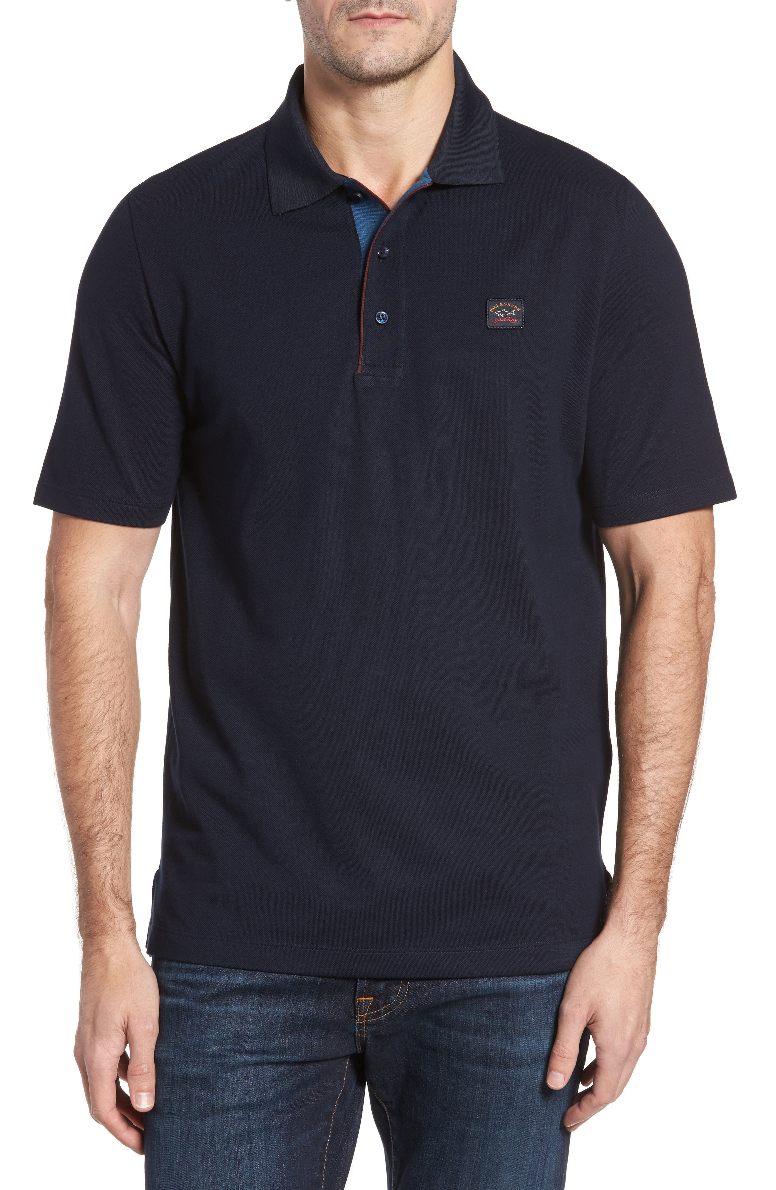 Paul & Shark Piqué Polo