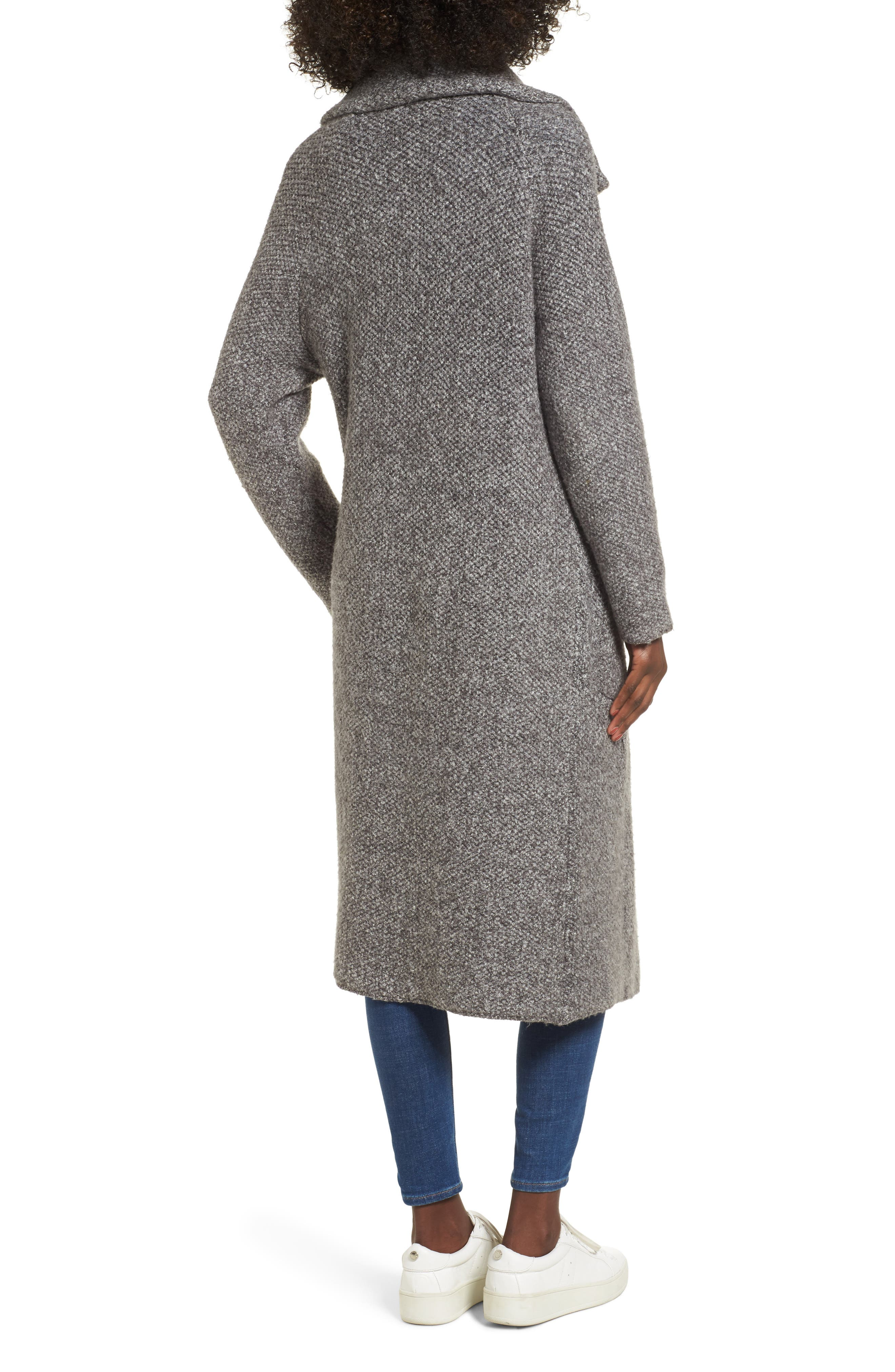 Kala Knit Sweater Jacket,                             Alternate thumbnail 2, color,                             Grey