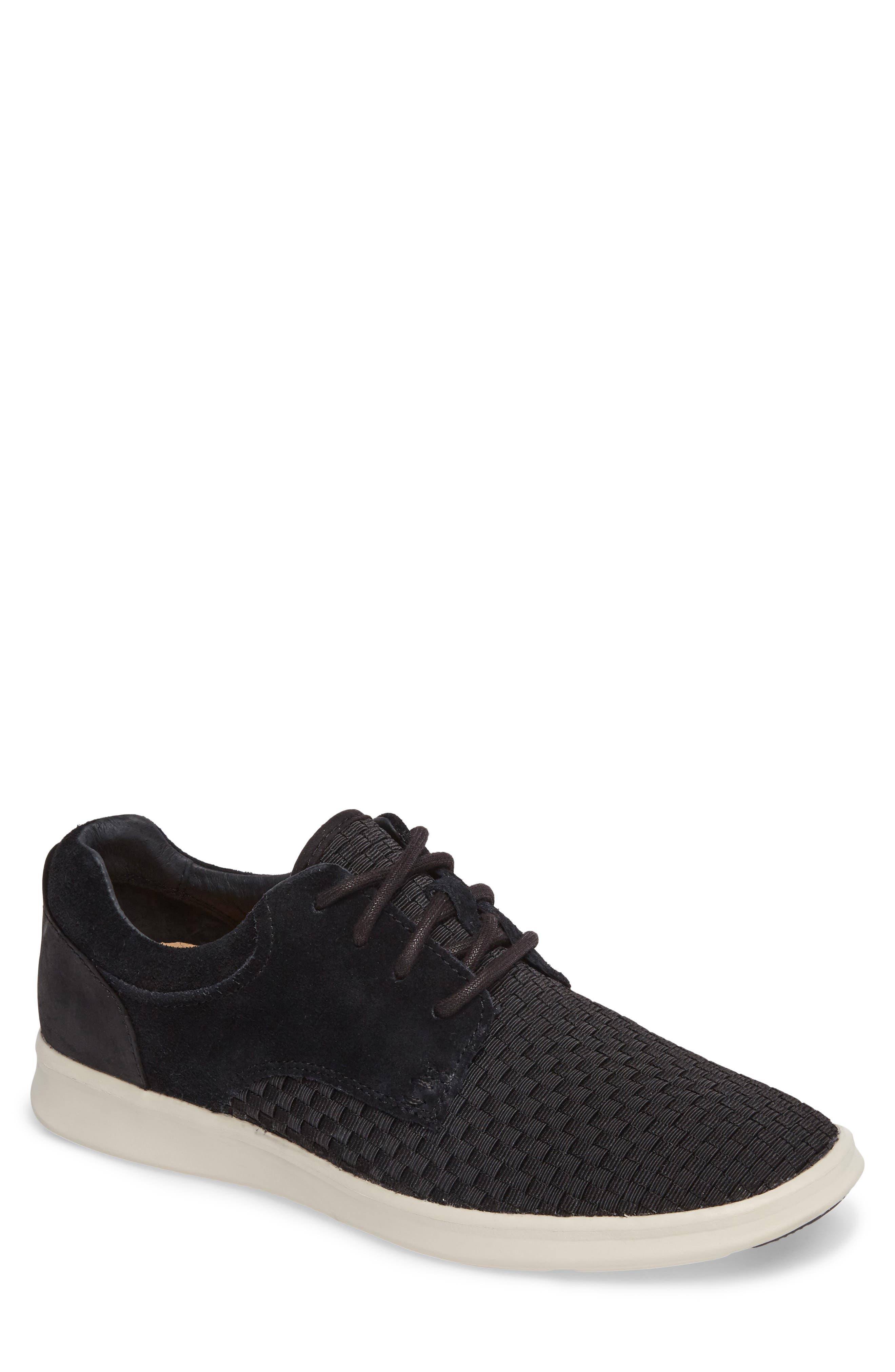 'Hepner' Woven Sneaker,                             Main thumbnail 1, color,                             Blk