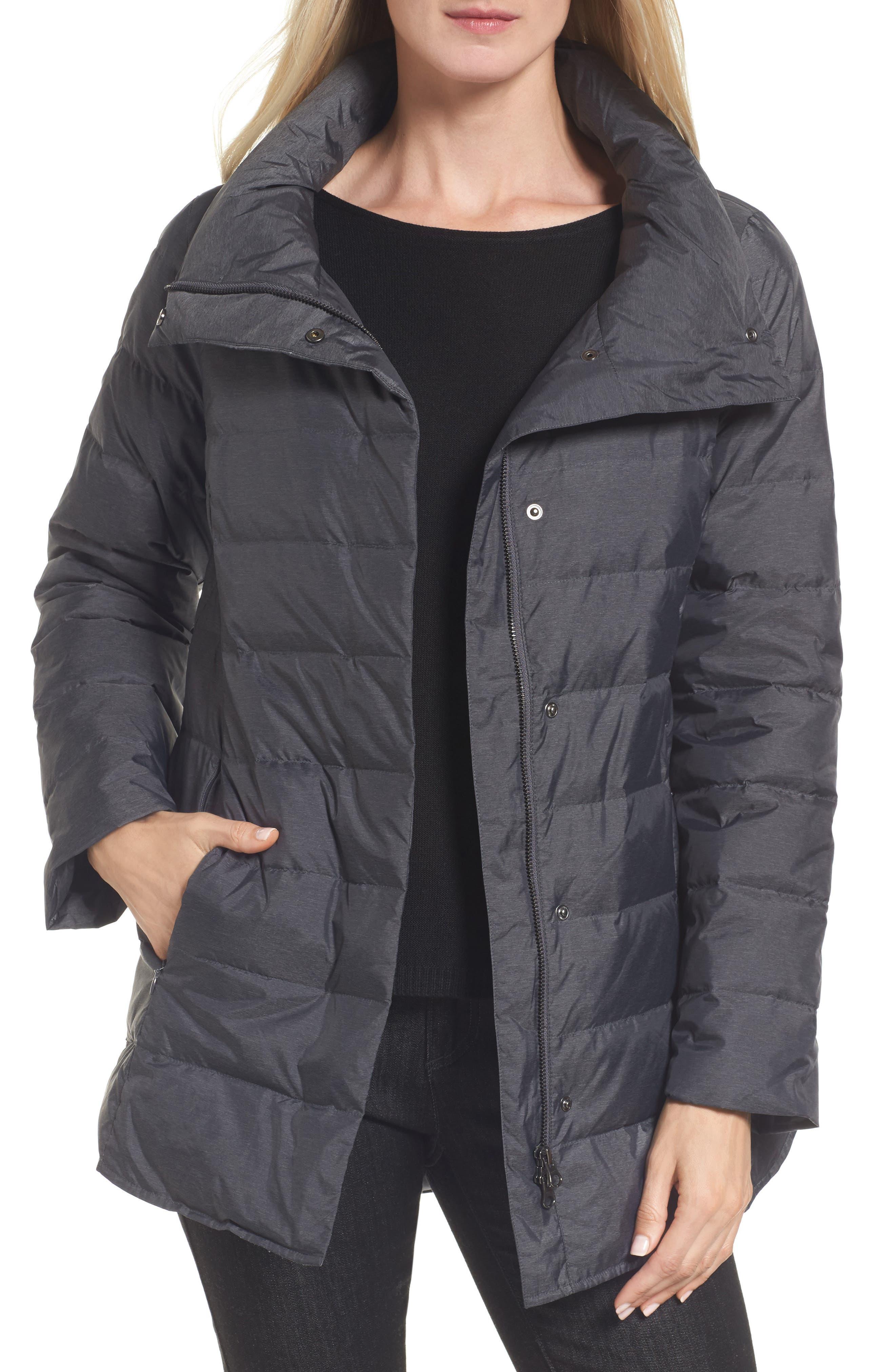 Down Jacket,                         Main,                         color, Charcoal
