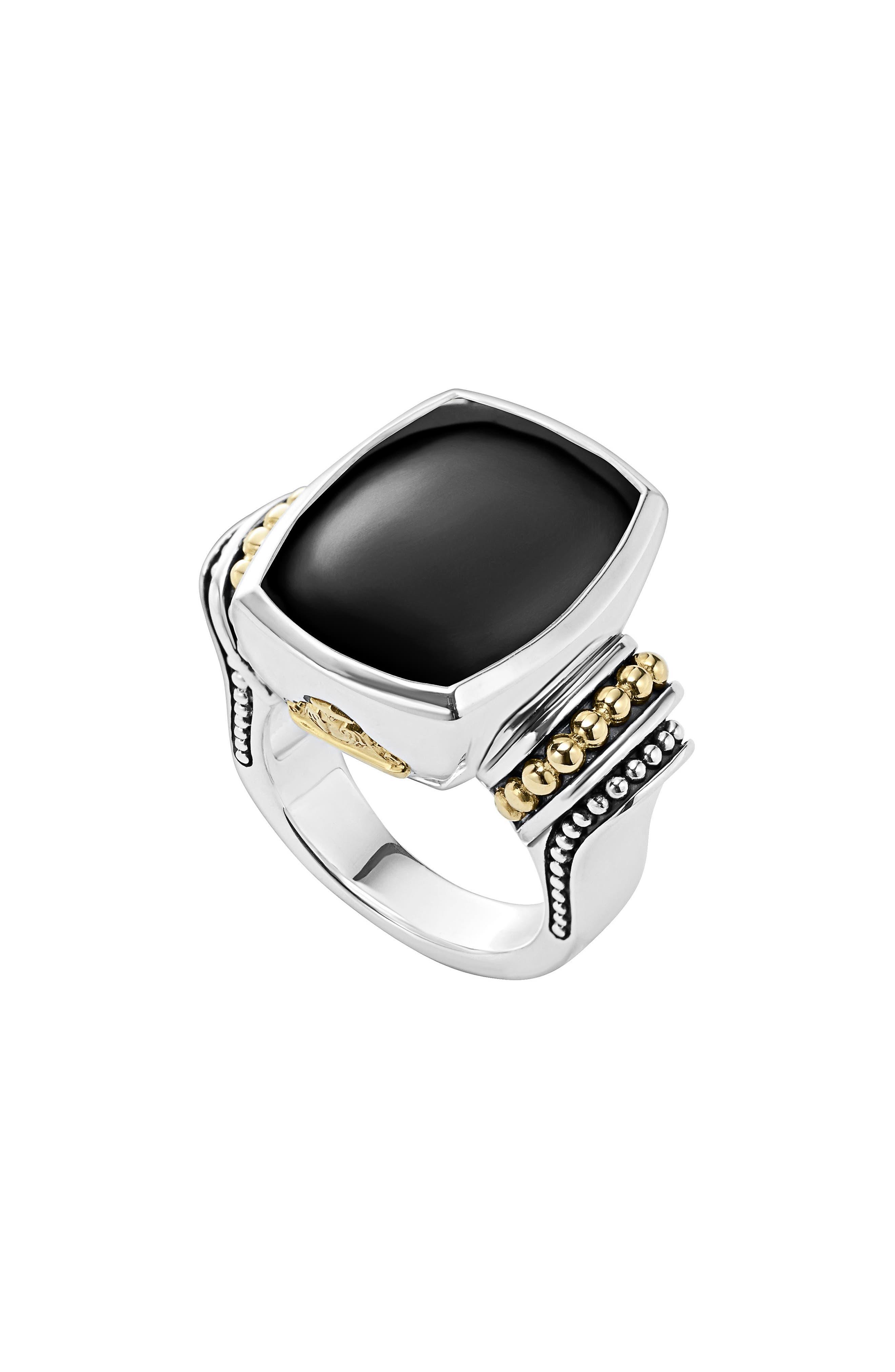 Main Image - LAGOS 'Caviar Color' Large Semiprecious Stone Ring