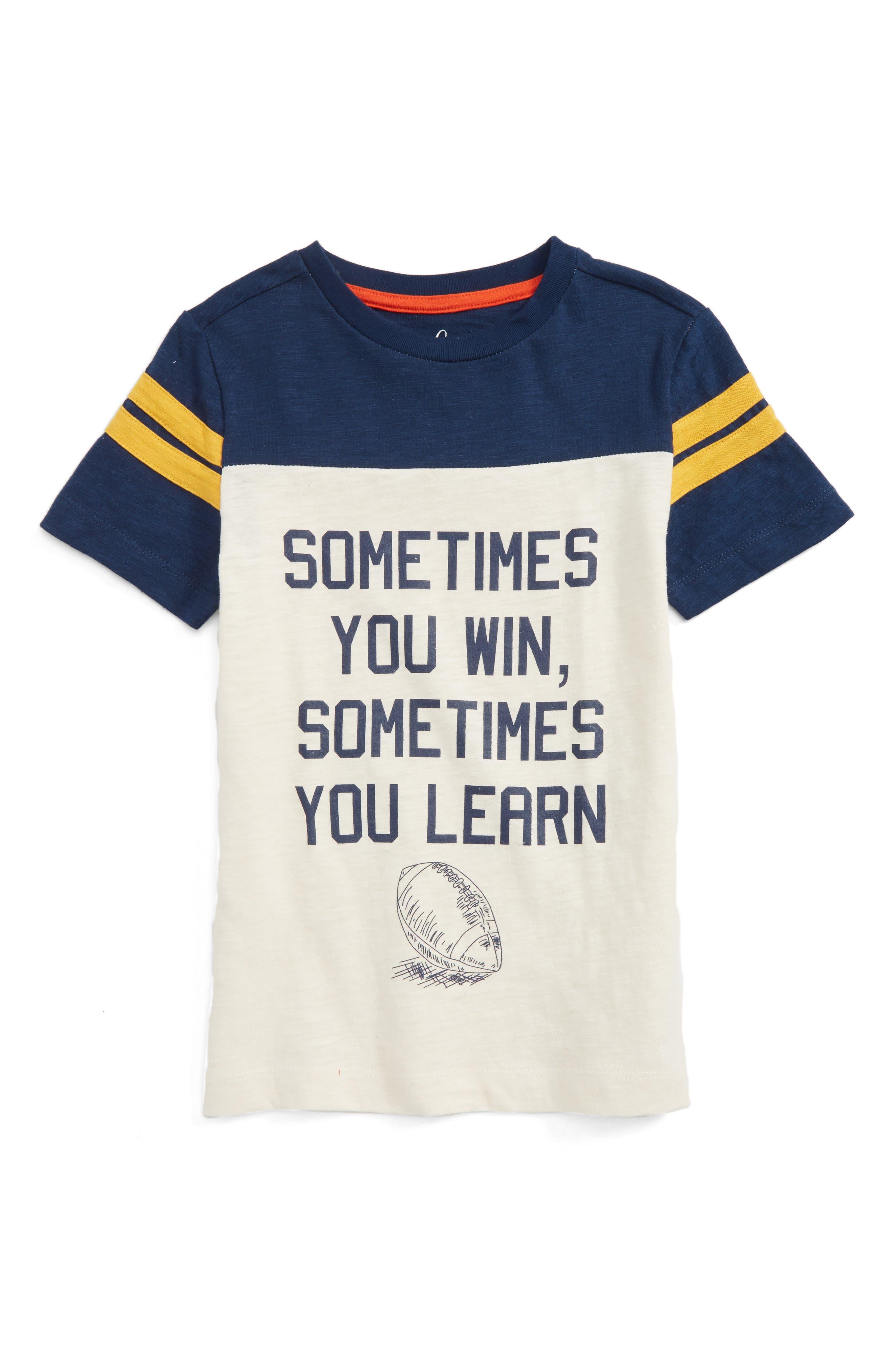 Peek Sometimes You Win T-Shirt (Toddler Boys, Little Boys & Big Boys)