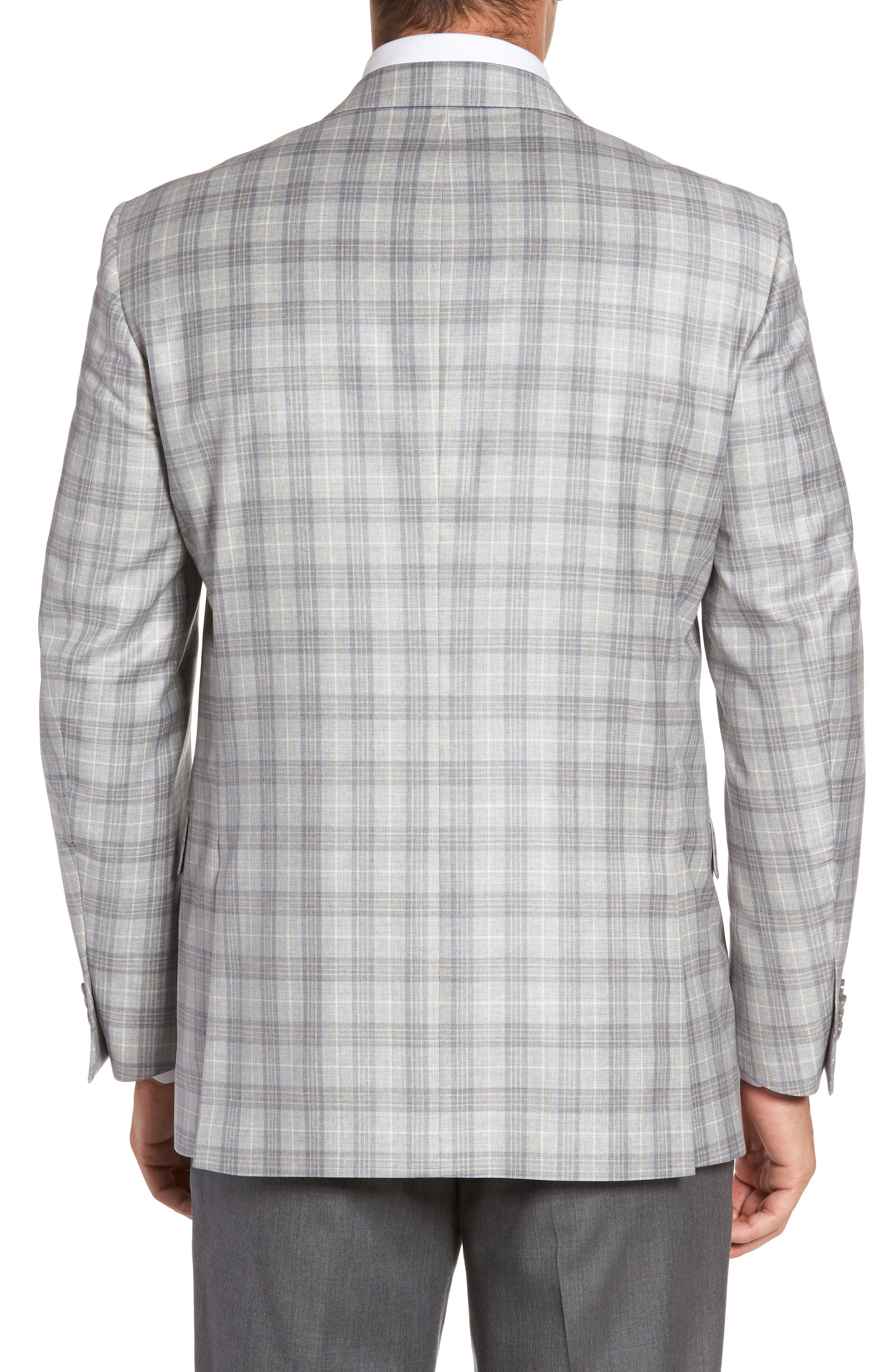 Alternate Image 2  - Peter Millar Flynn Classic Fit Plaid Wool Sport Coat