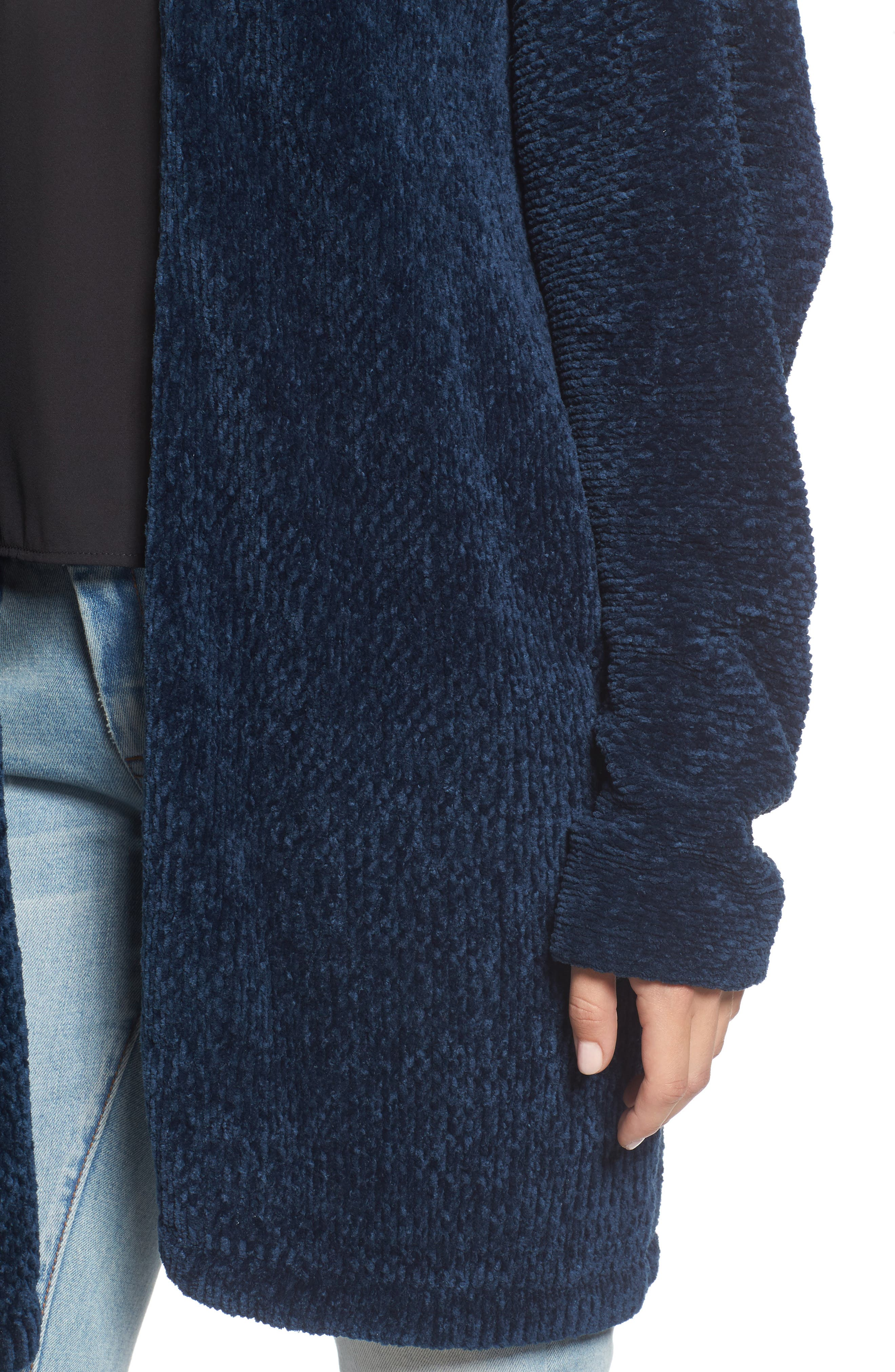 Alternate Image 4  - Lost + Wander Maya Chenille Long Cardigan