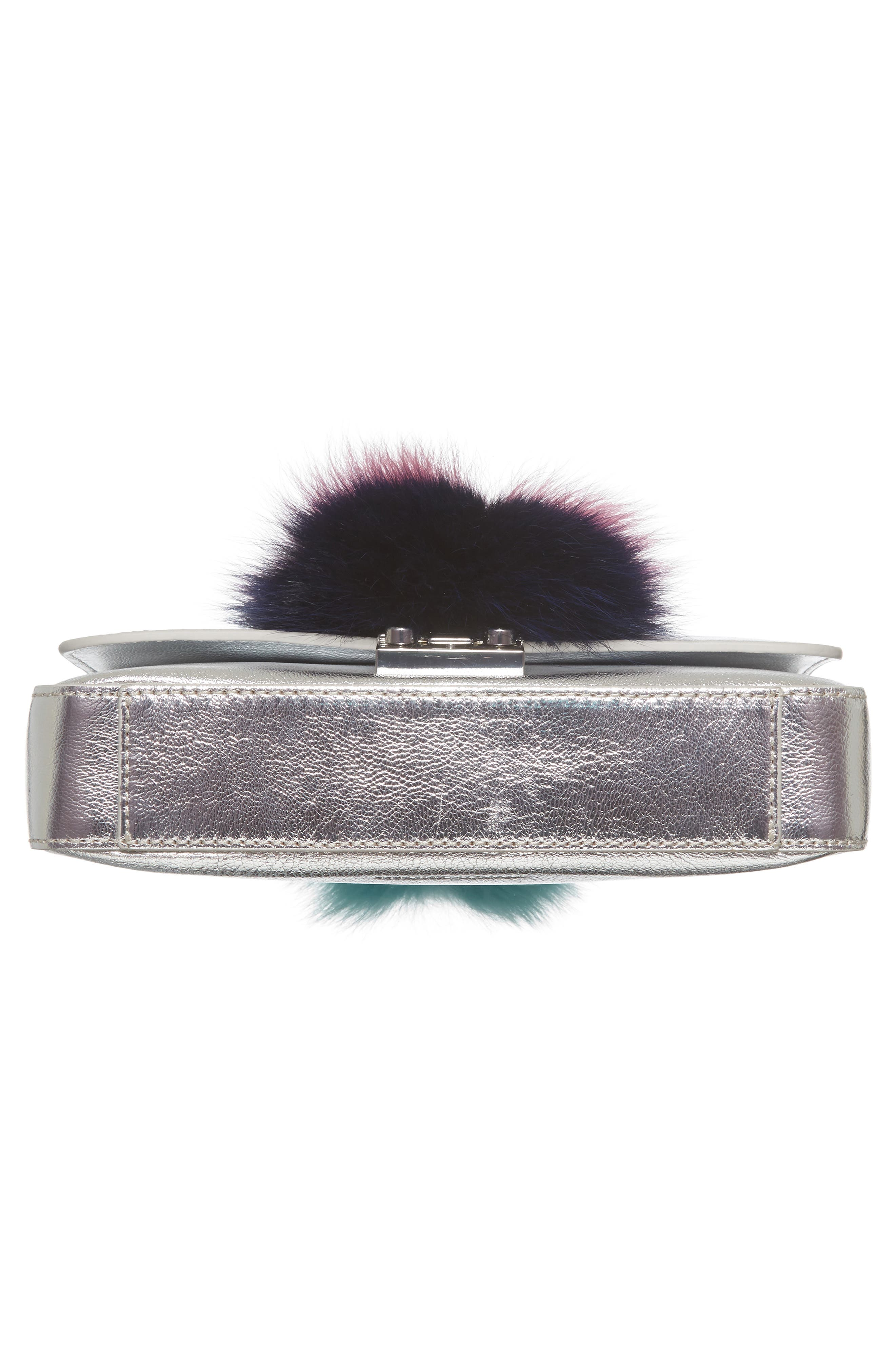 Alternate Image 6  - Loeffler Randall Lock Genuine Fox Fur Shoulder Bag