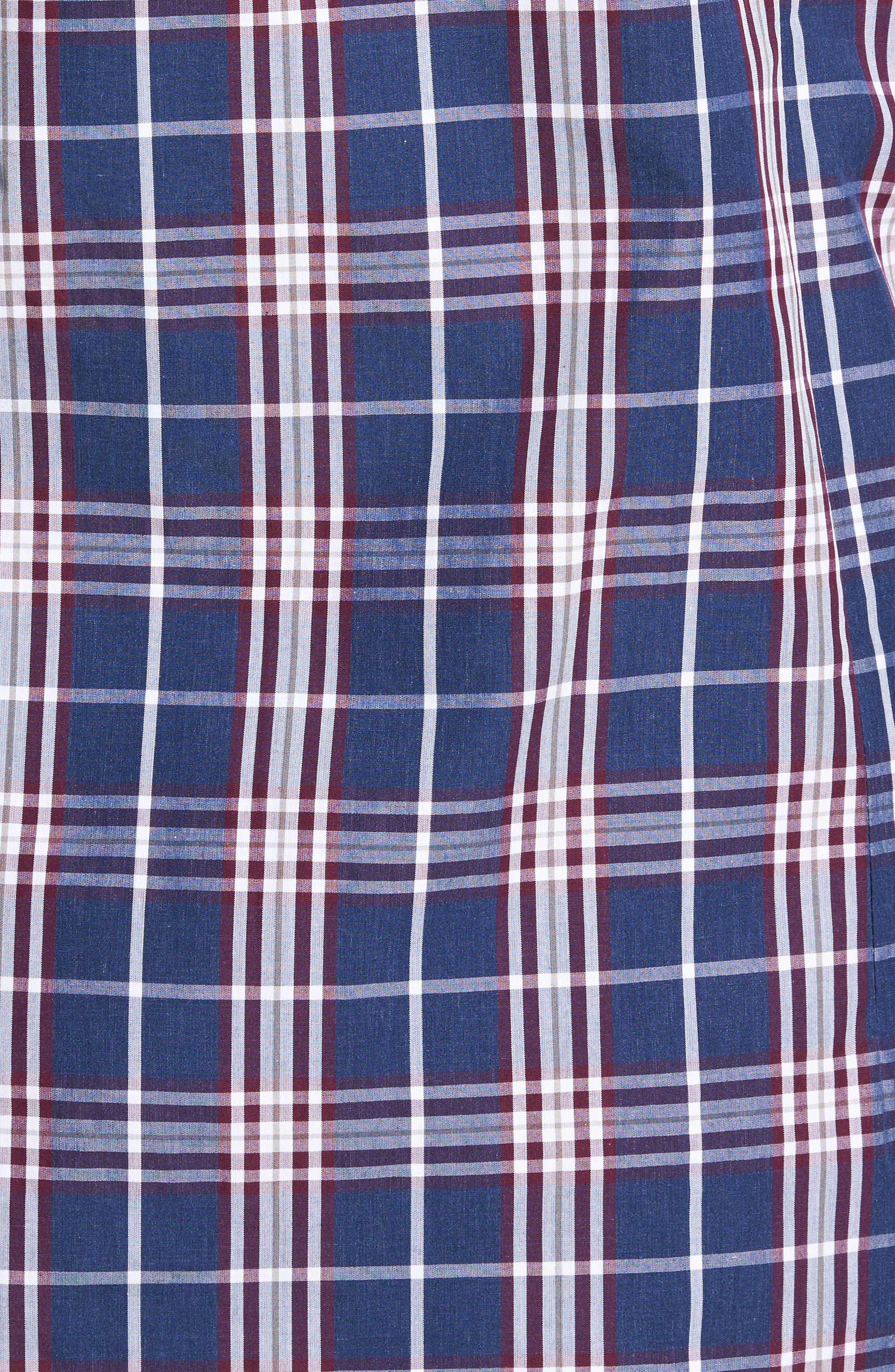 Alternate Image 5  - Jeremy Argyle Comfort Fit Plaid Sport Shirt
