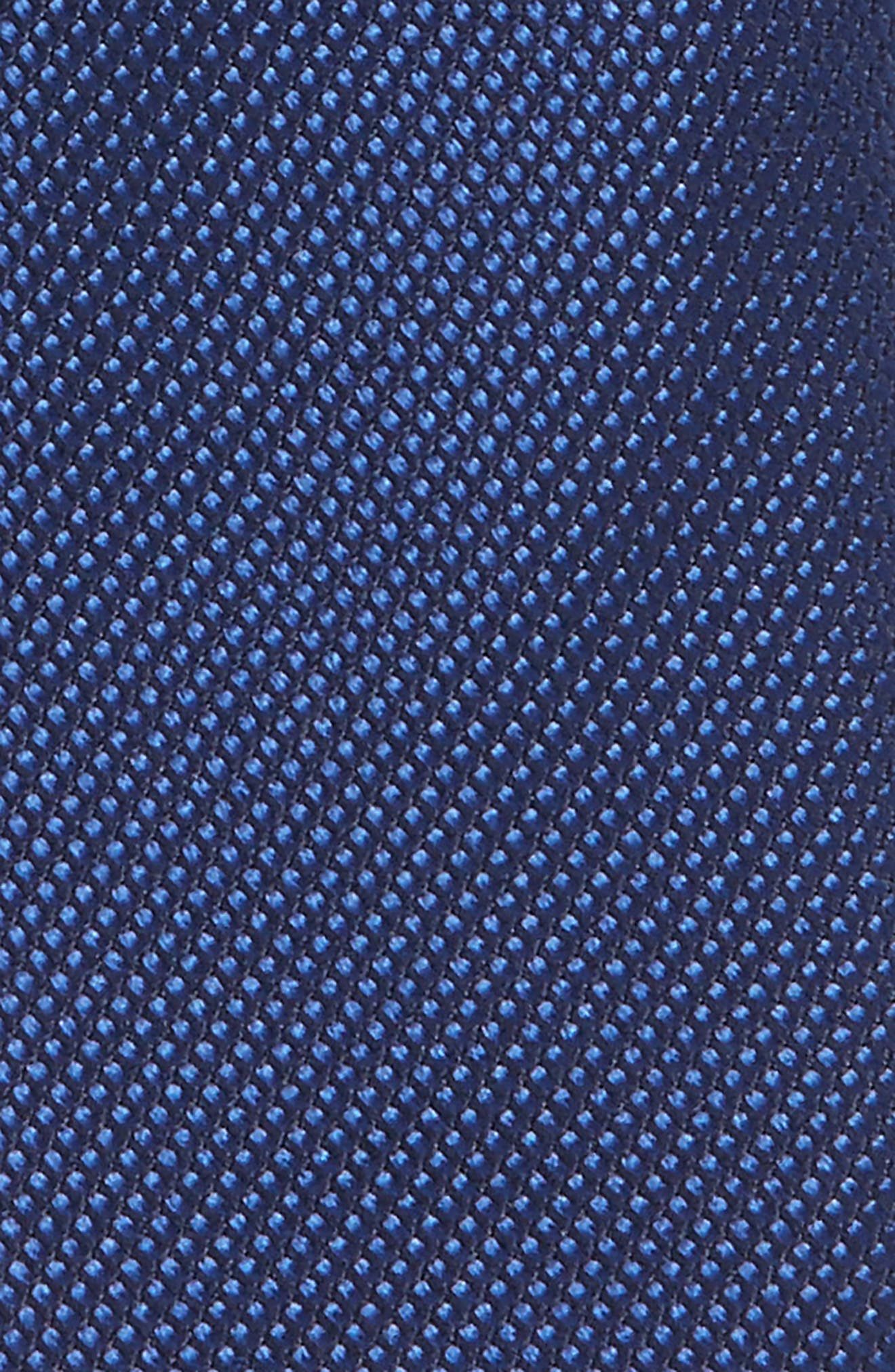 Alternate Image 2  - Nordstrom Solid Silk Tie (Big Boys)