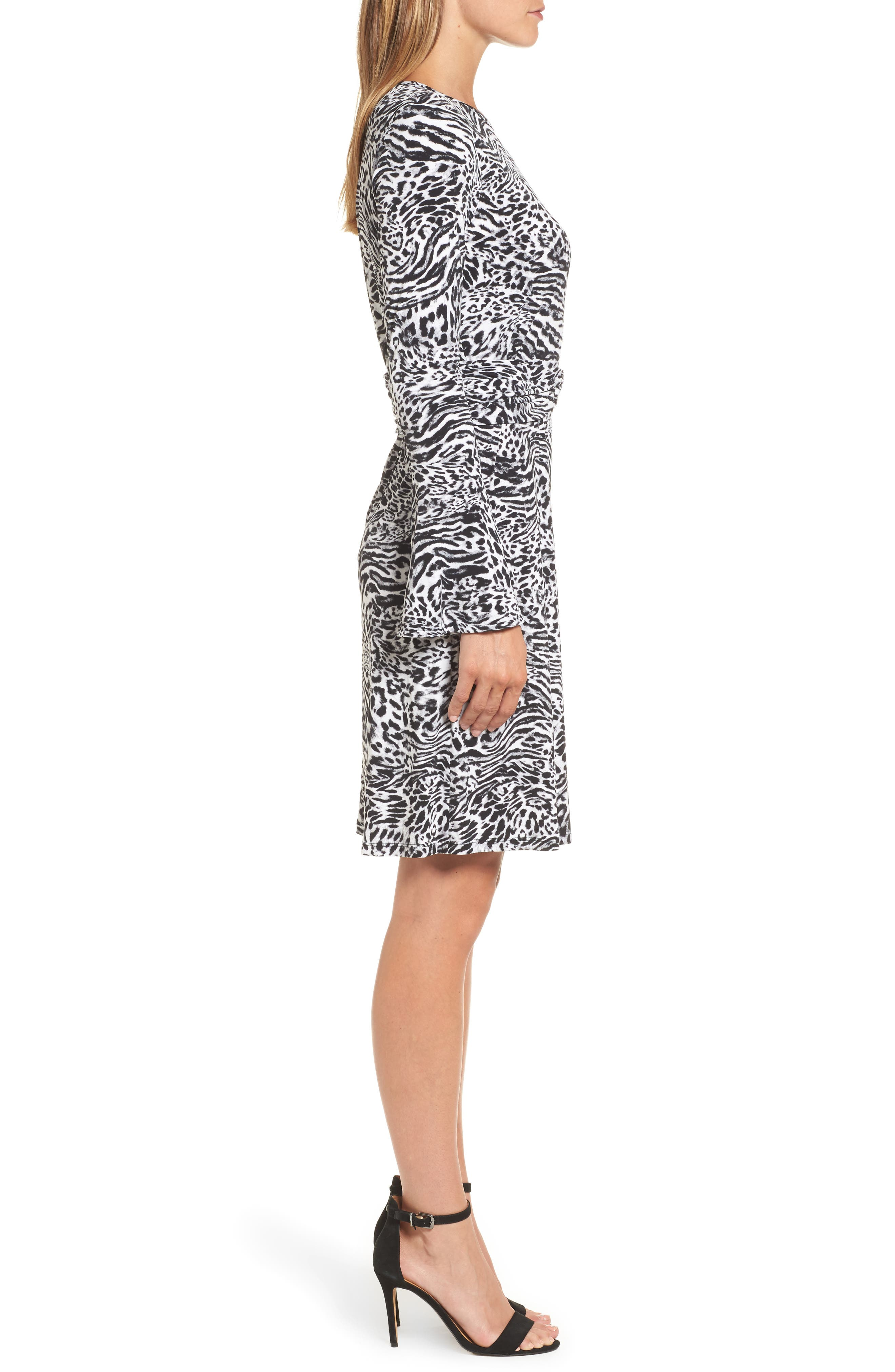 Alternate Image 3  - MICHAEL Michael Kors Big Cat A-Line Dress