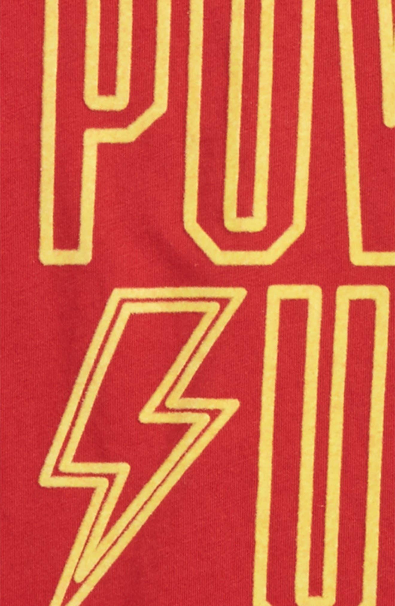 Alternate Image 2  - Peek Power Up T-Shirt (Toddler Boys, Little Boys & Big Boys)