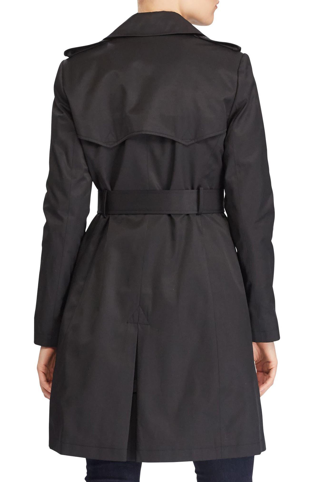 Alternate Image 3  - Lauren Ralph Lauren Double Breasted Trench Coat