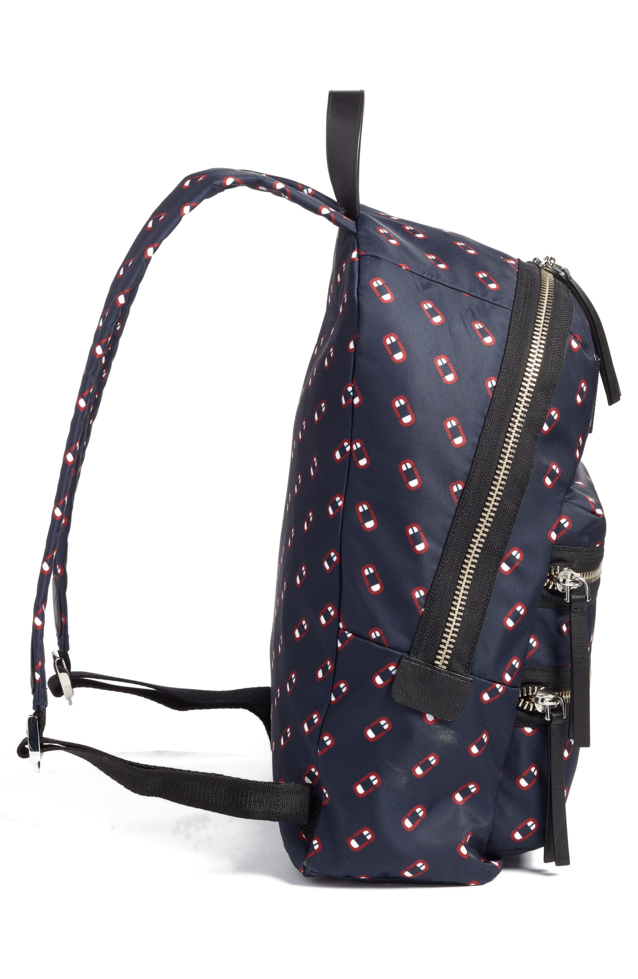 Alternate Image 3  - MARC JACOBS Logo Scream Biker Backpack