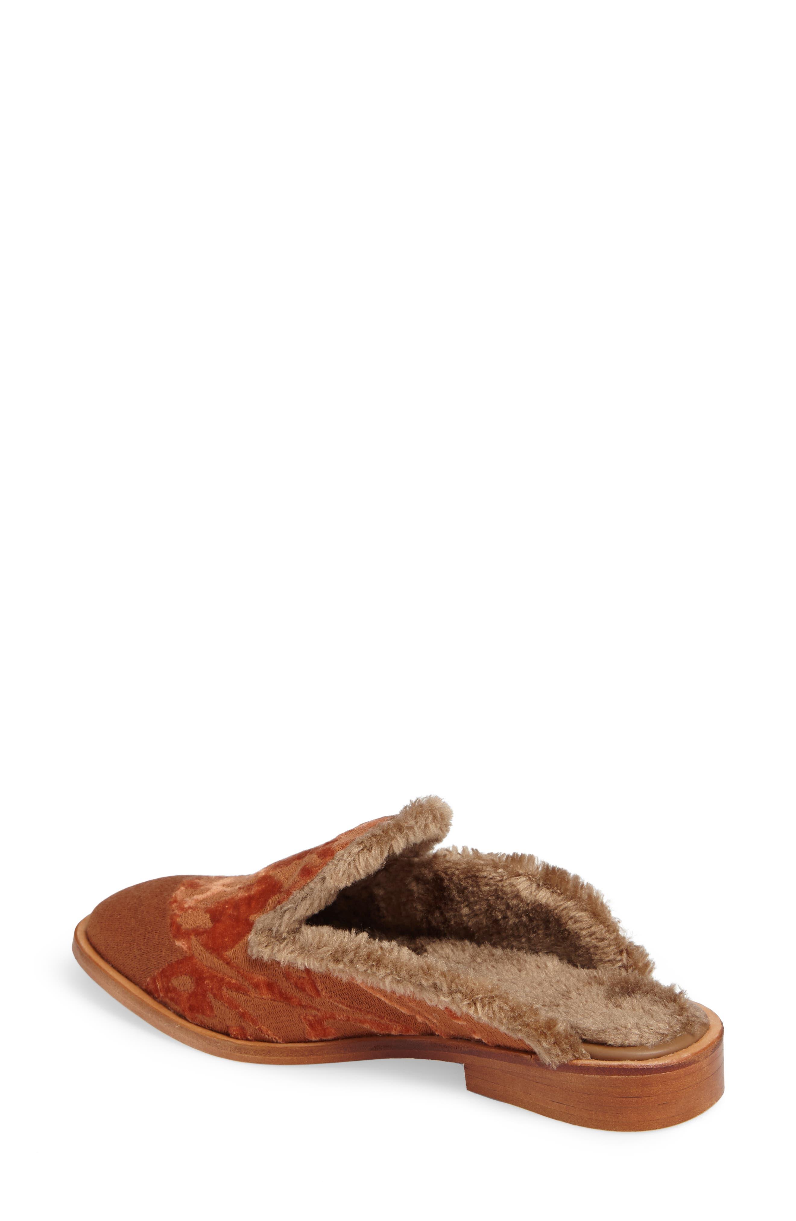 Alternate Image 2  - Free People Butterfly Faux Fur Lined Mule (Women)