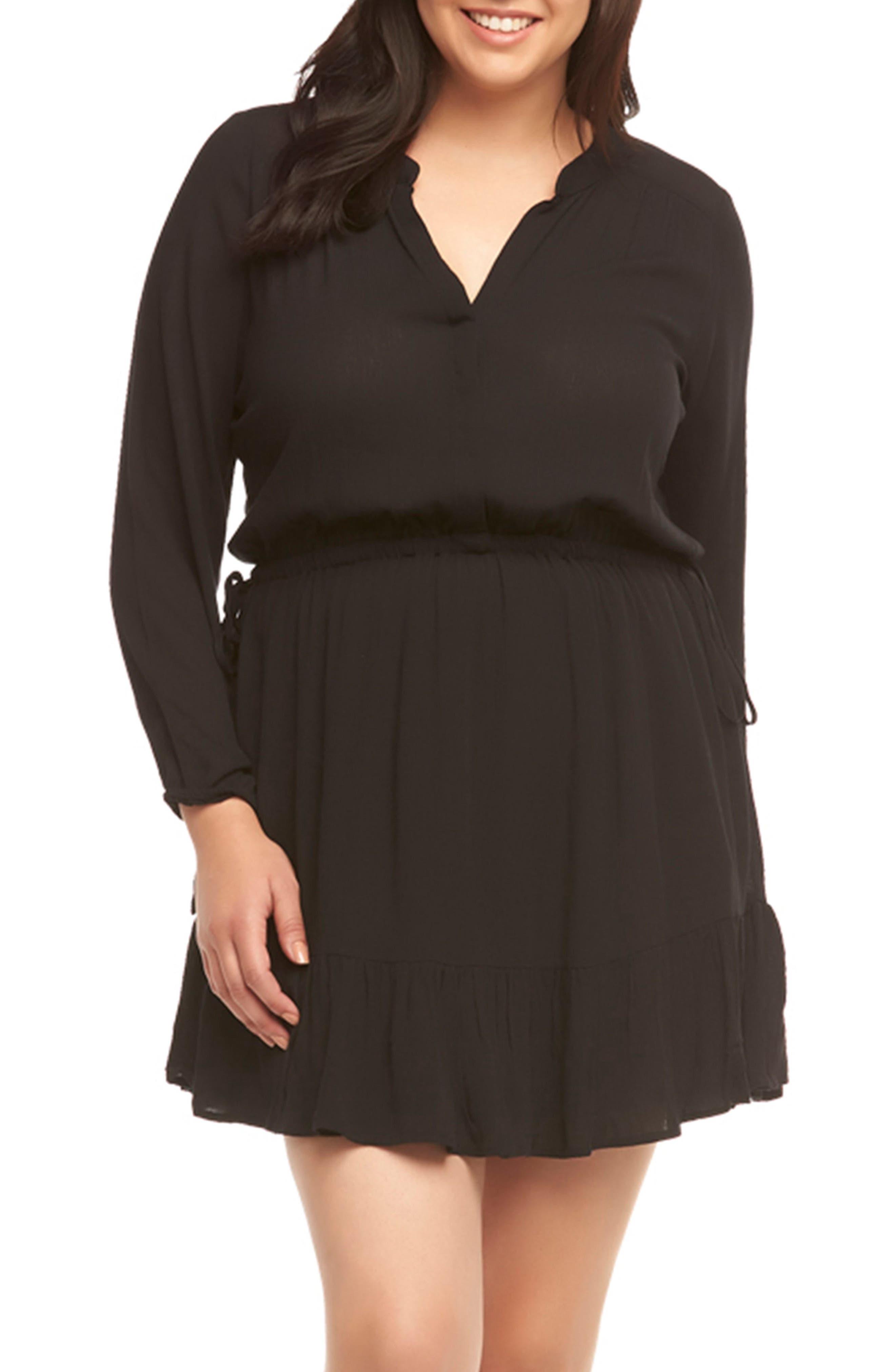 Alternate Image 1 Selected - Tart Sian Shirtdress (Plus Size)