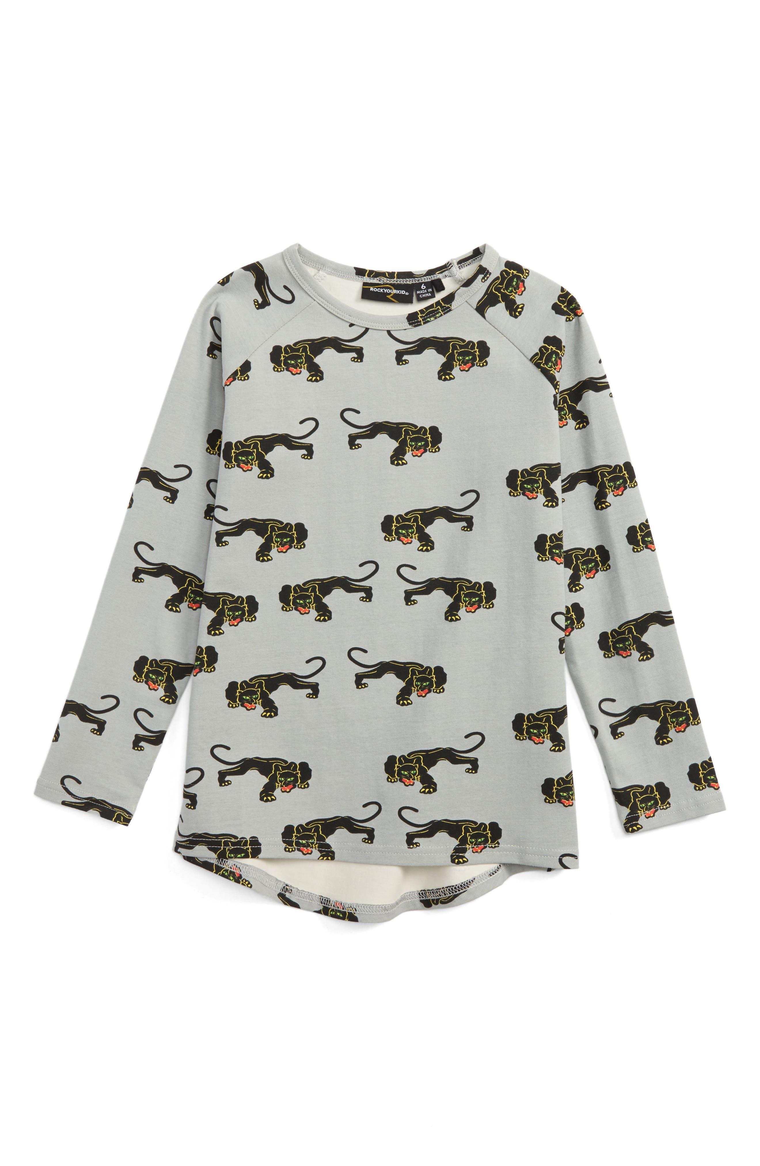 ROCK YOUR BABY Jaguar Graphic T-Shirt