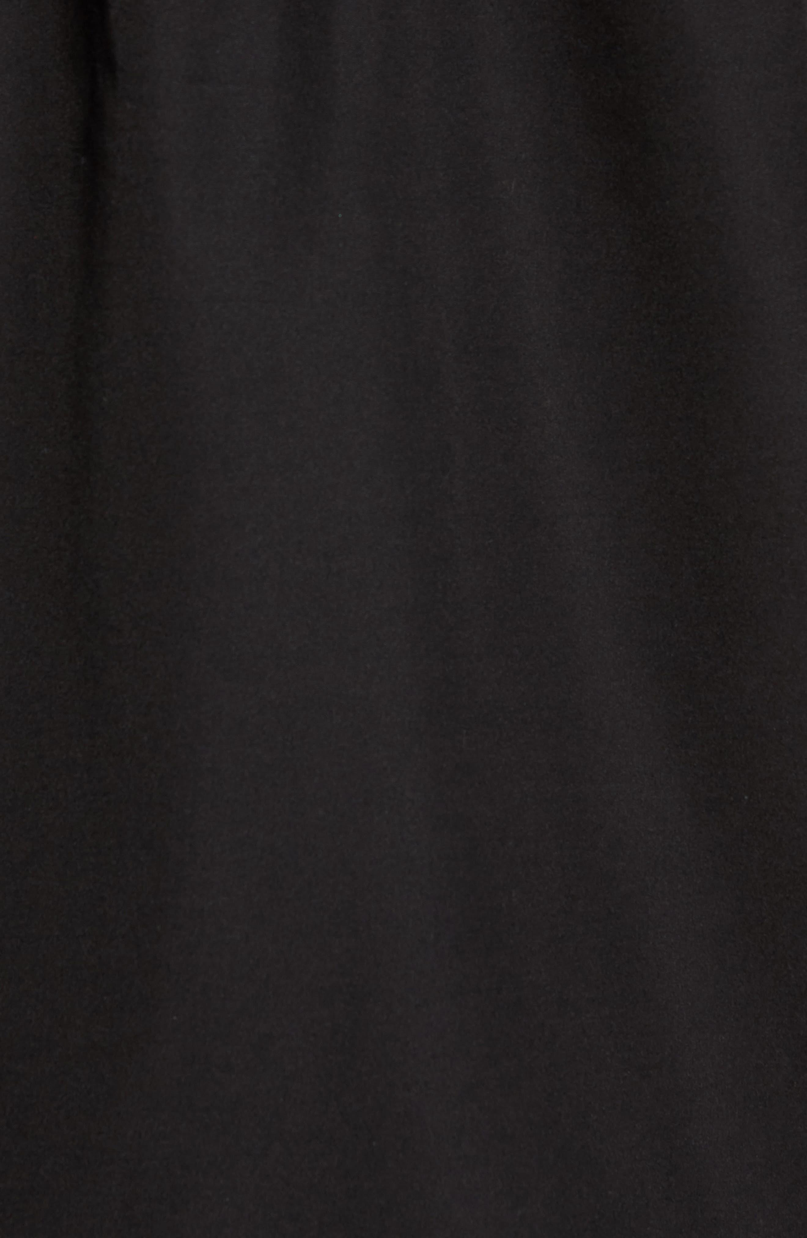 Ragged Mountain Packable Waterproof Jacket,                             Alternate thumbnail 5, color,                             Black