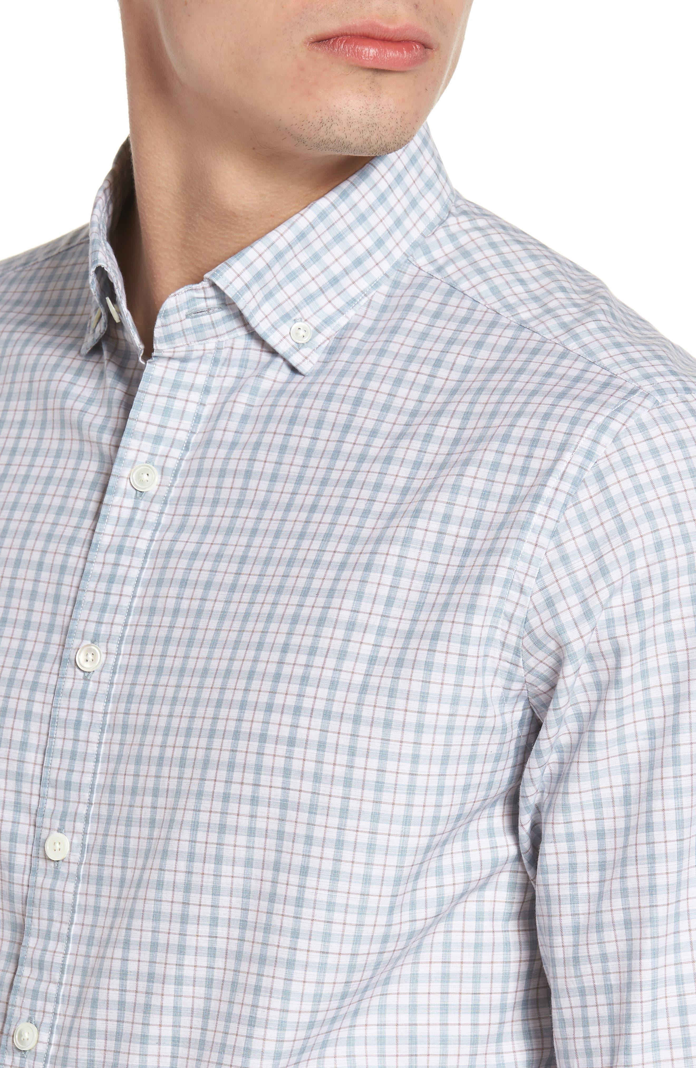 Alternate Image 4  - Rodd & Gunn Carterton Sports Fit Plaid Sport Shirt