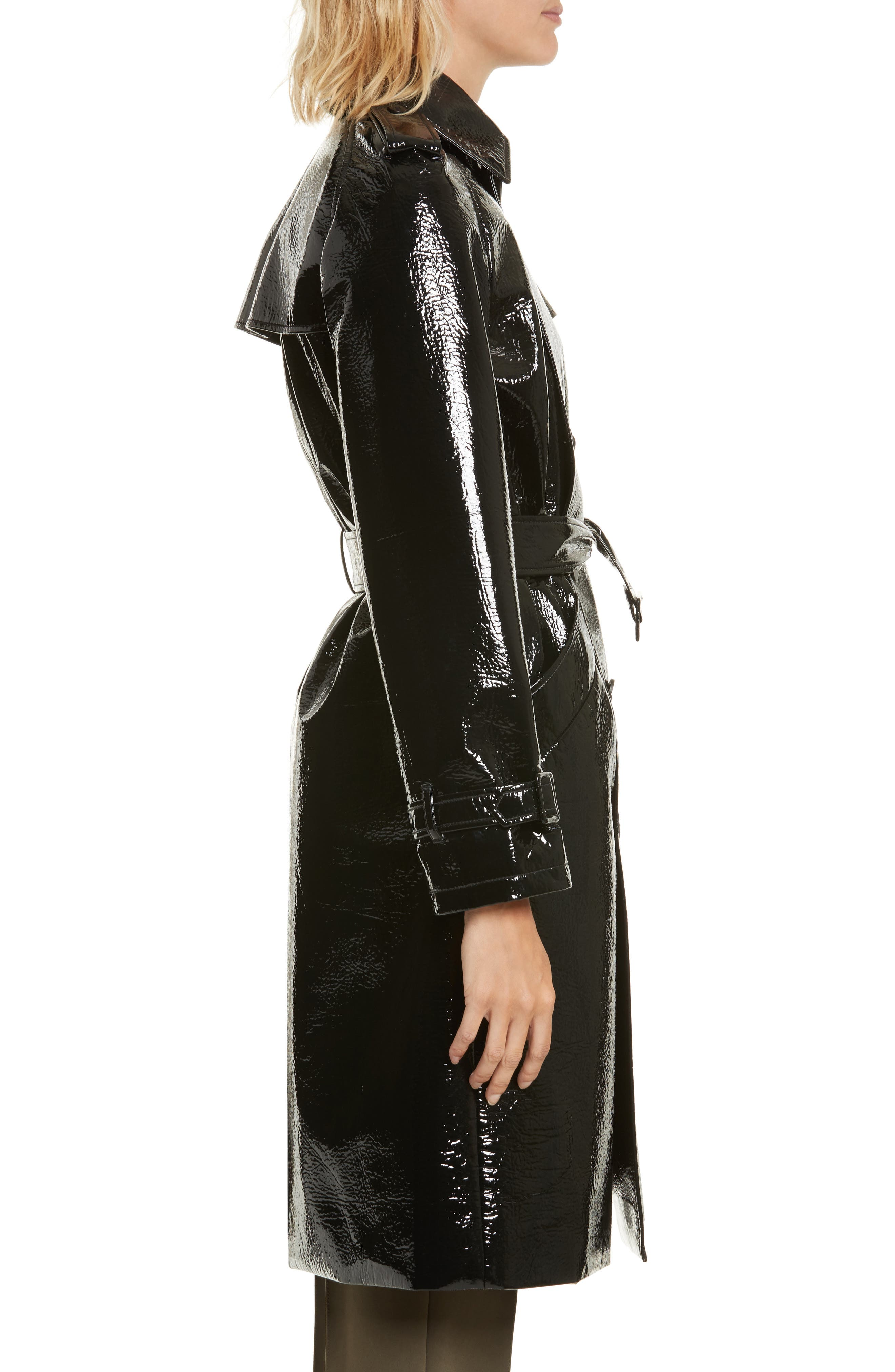 Alternate Image 3  - Diane von Furstenberg Patent Trench Coat