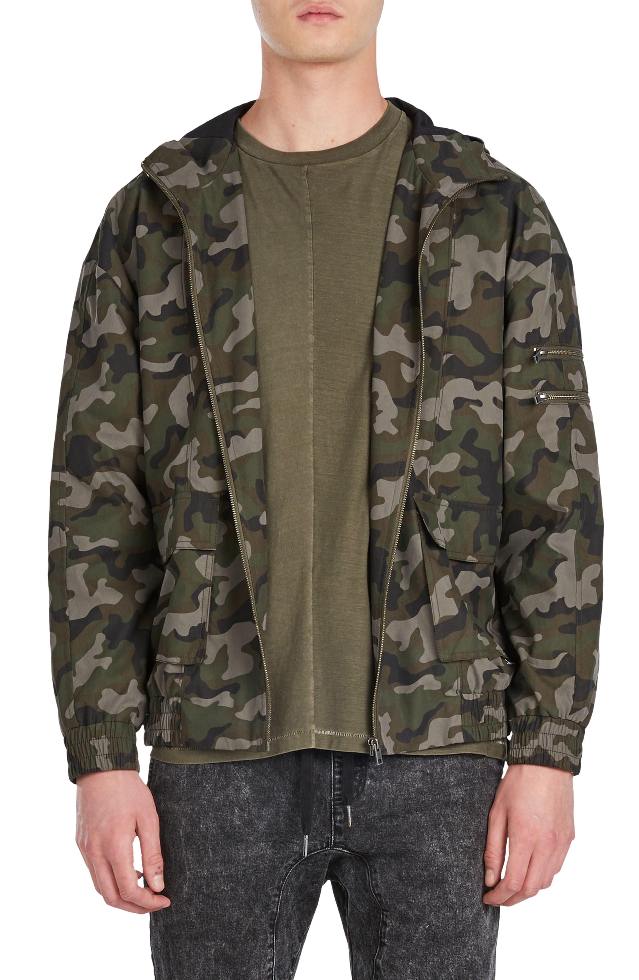 ZANEROBE Box Camo Hooded Jacket