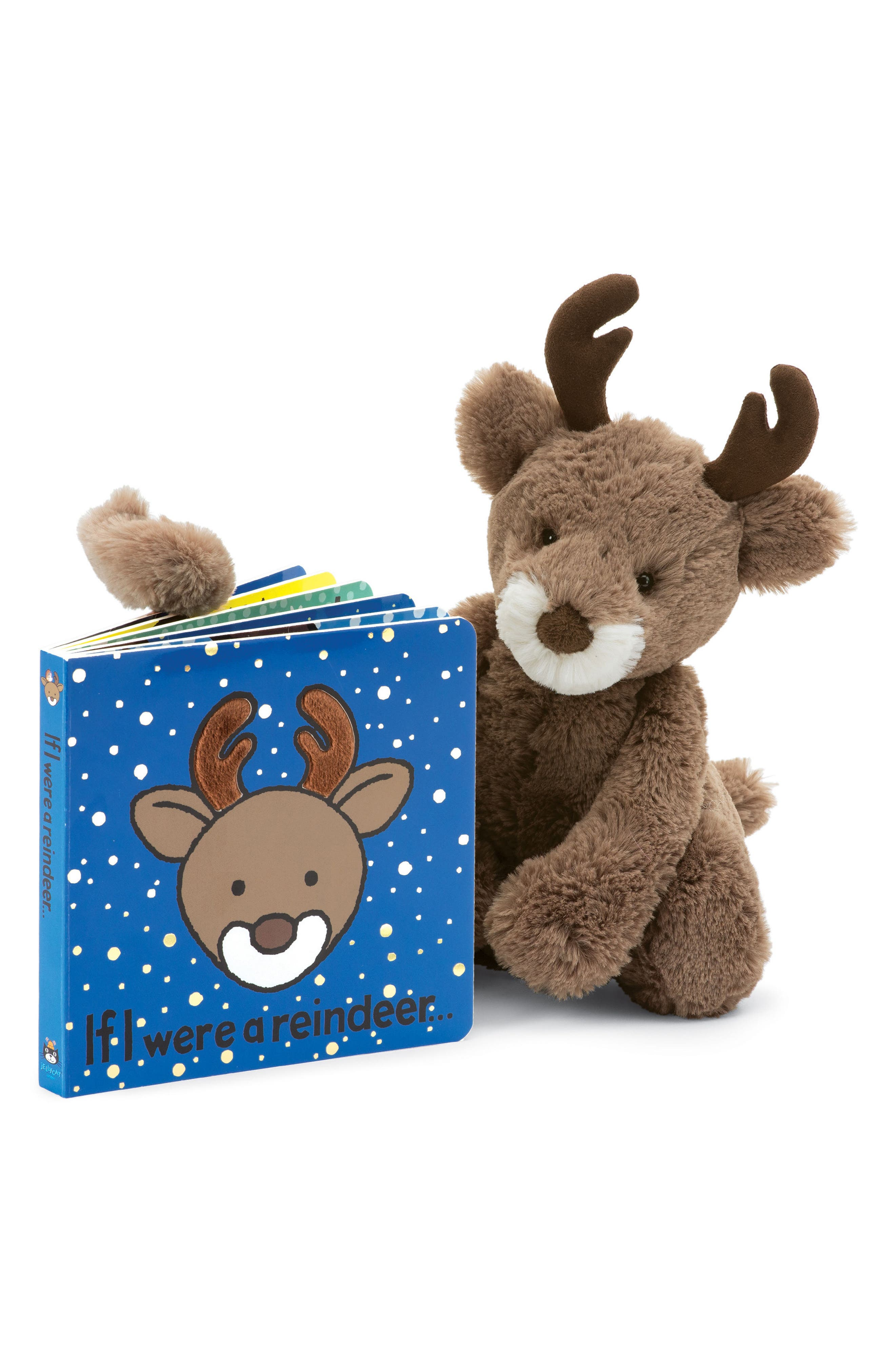 Alternate Image 2  - Jellycat 'If I Were a Reindeer' Board Book