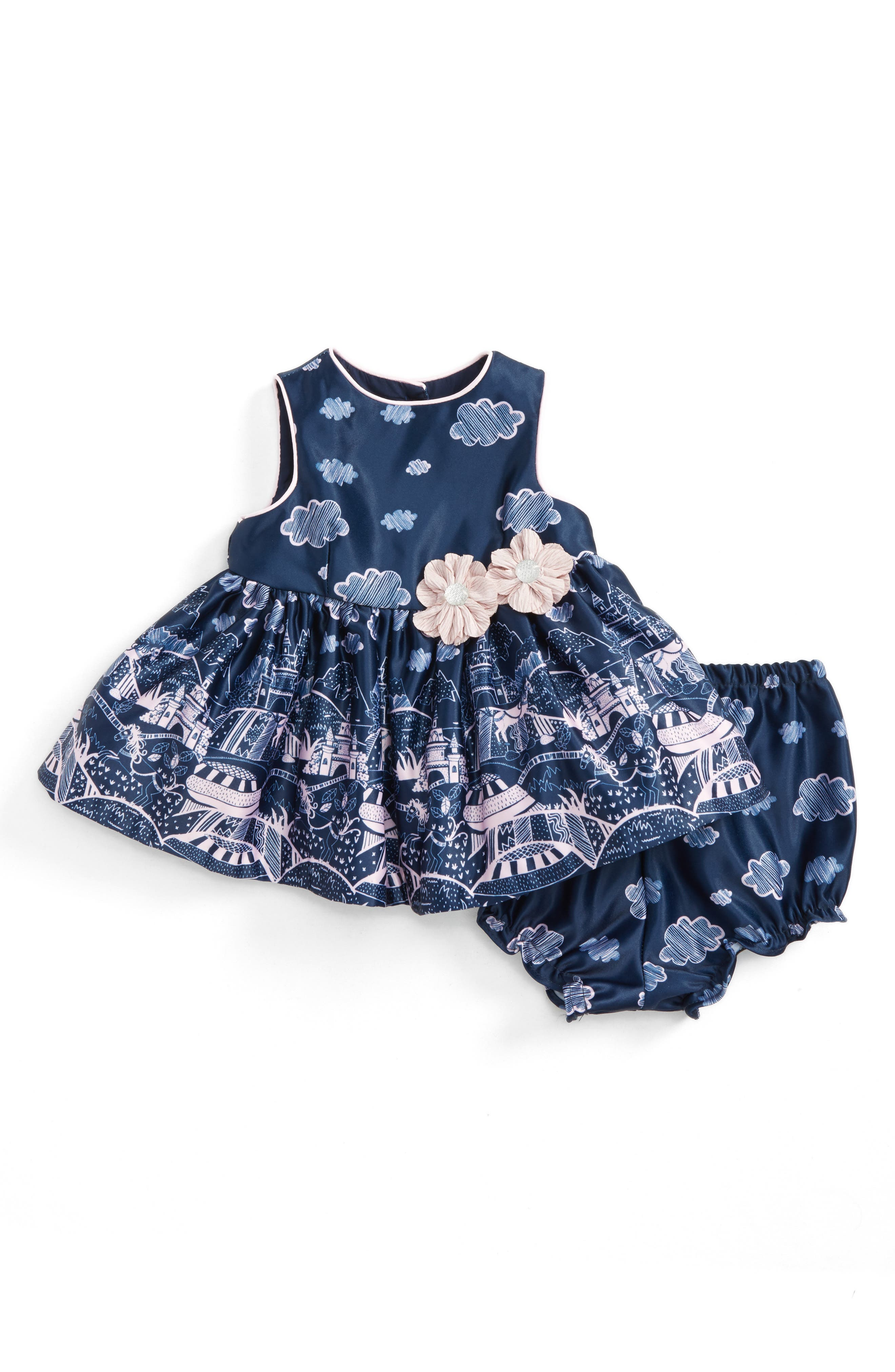 Pippa & Julie Landscape Dress (Baby Girls)