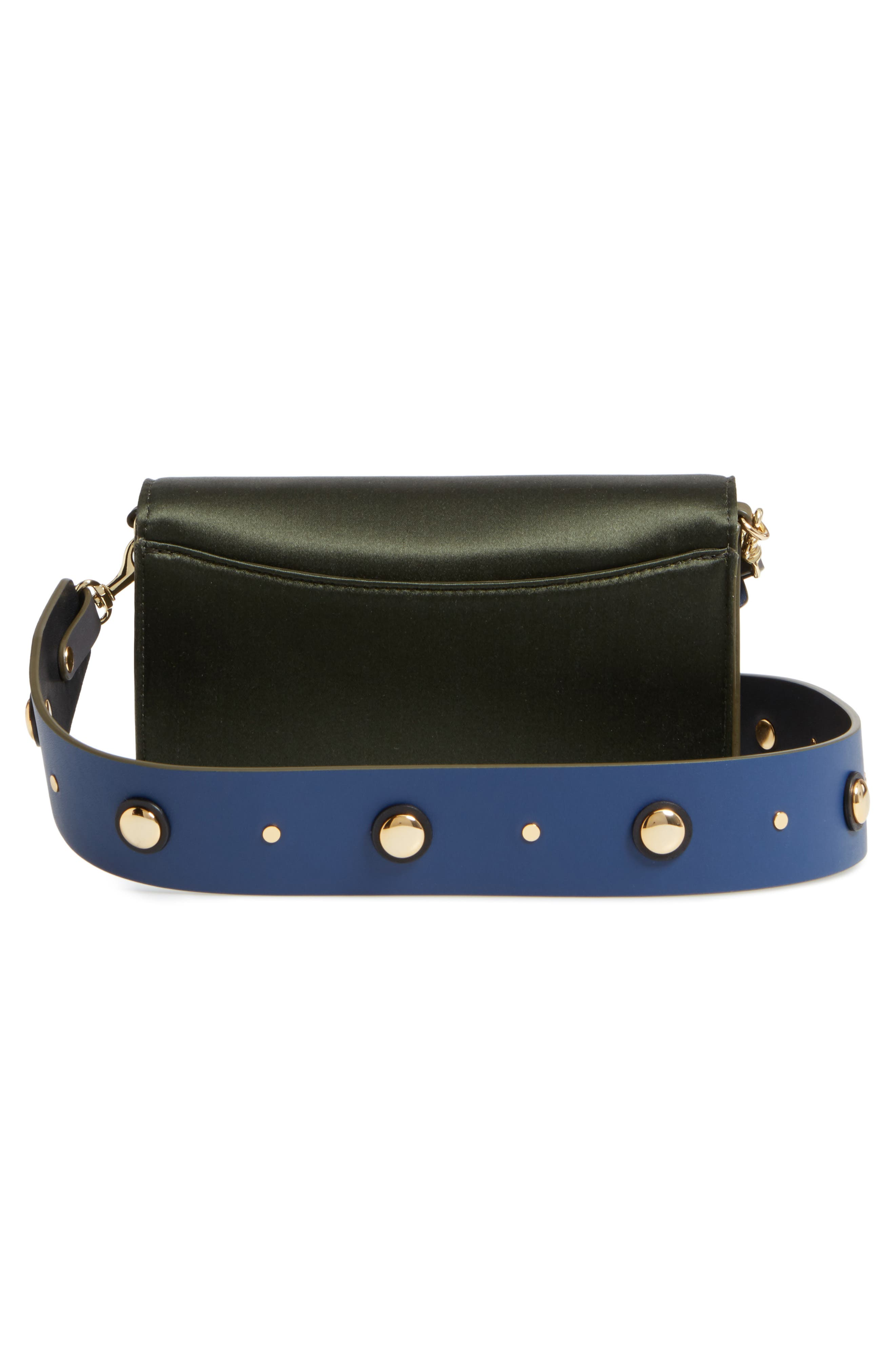 Alternate Image 3  - Diane von Furstenberg Soirée Satin Convertible Crossbody Bag