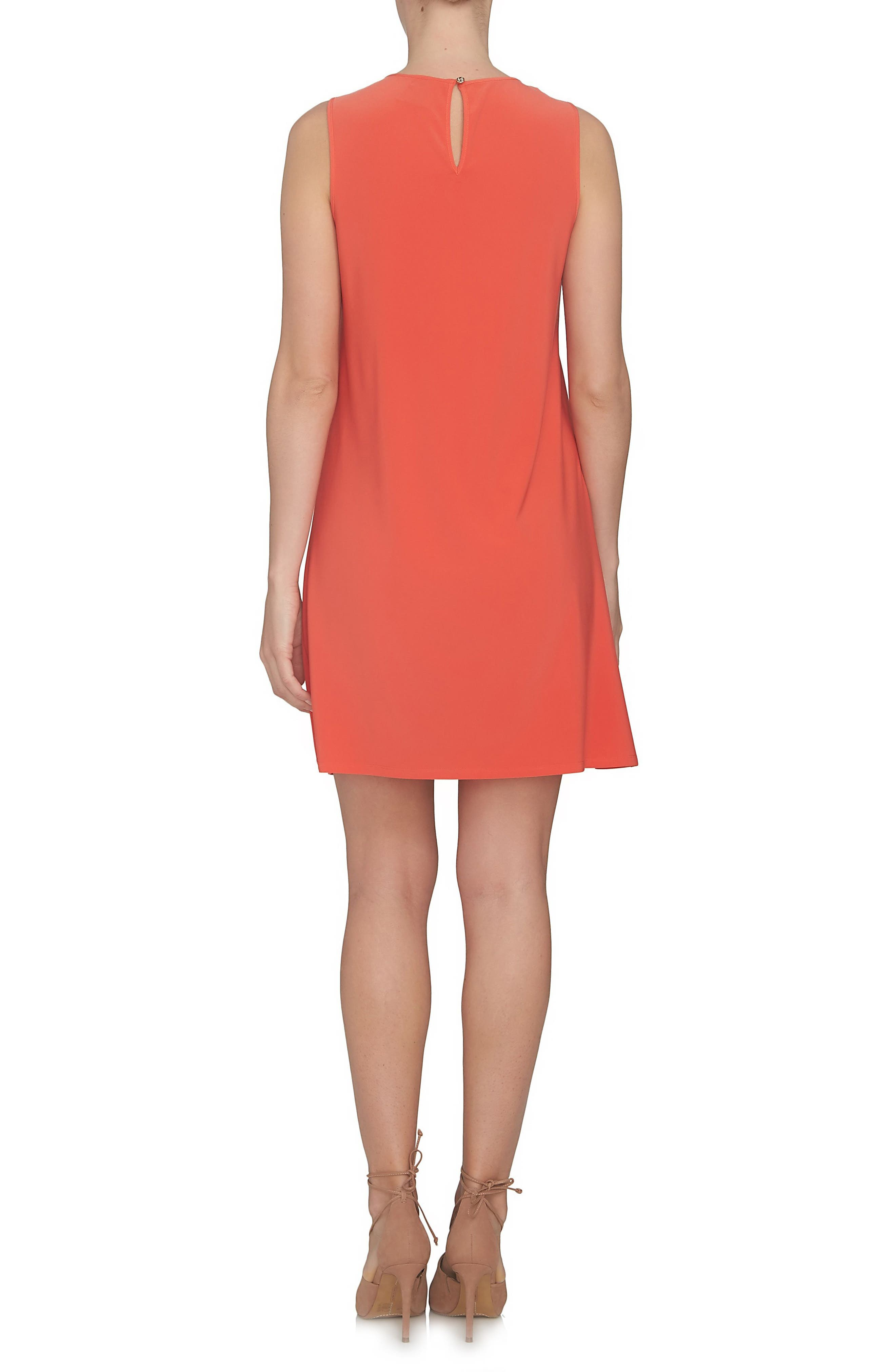 Alternate Image 2  - CeCe Cutout Yoke A-Line Shift Dress