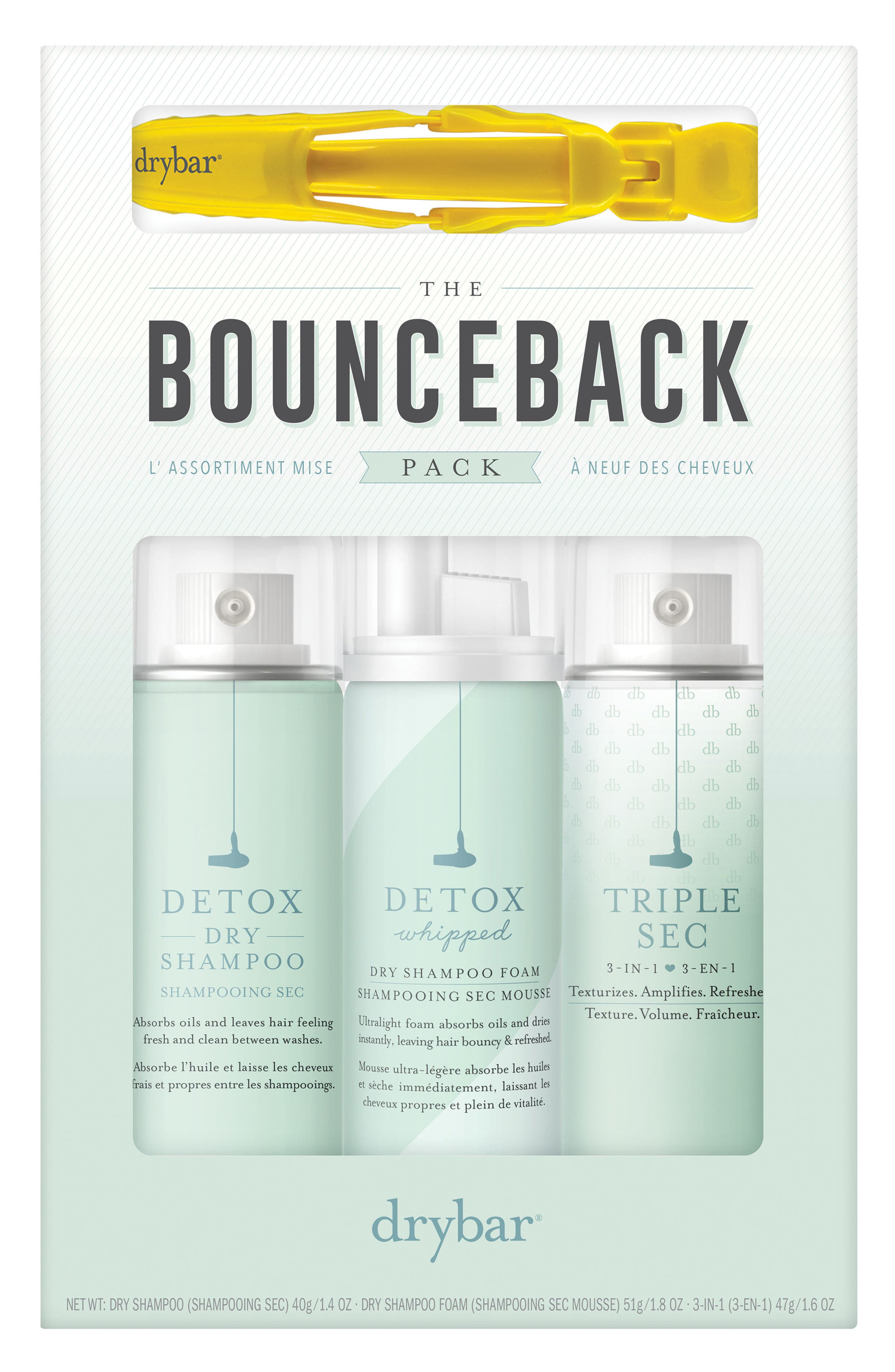 Alternate Image 1 Selected - Drybar The Bounceback Pack (Nordstrom Exclusive) ($47 Value)