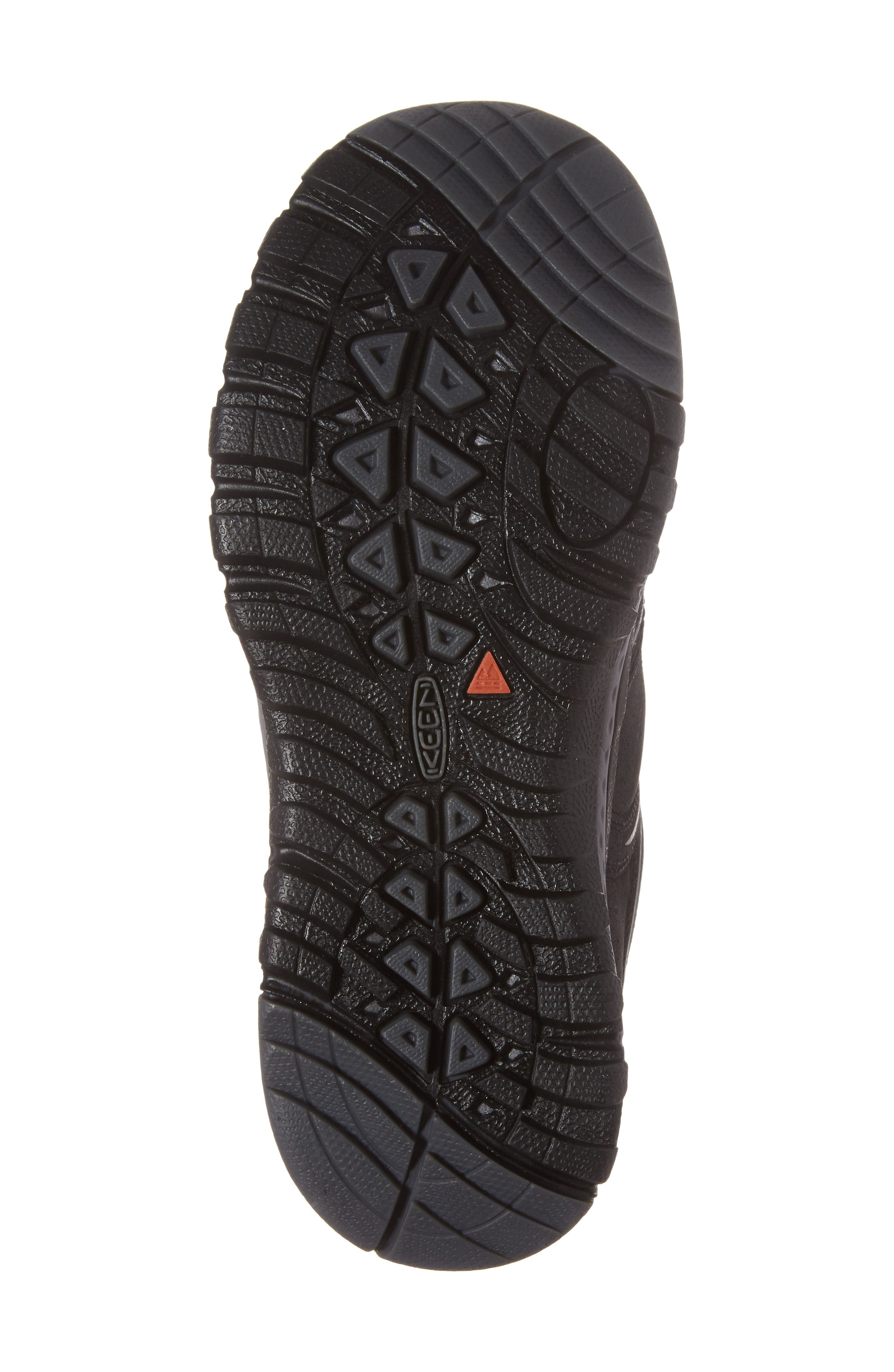 Terradora Waterproof Hiking Shoe,                             Alternate thumbnail 6, color,                             Black/ Steel Grey Nubuck