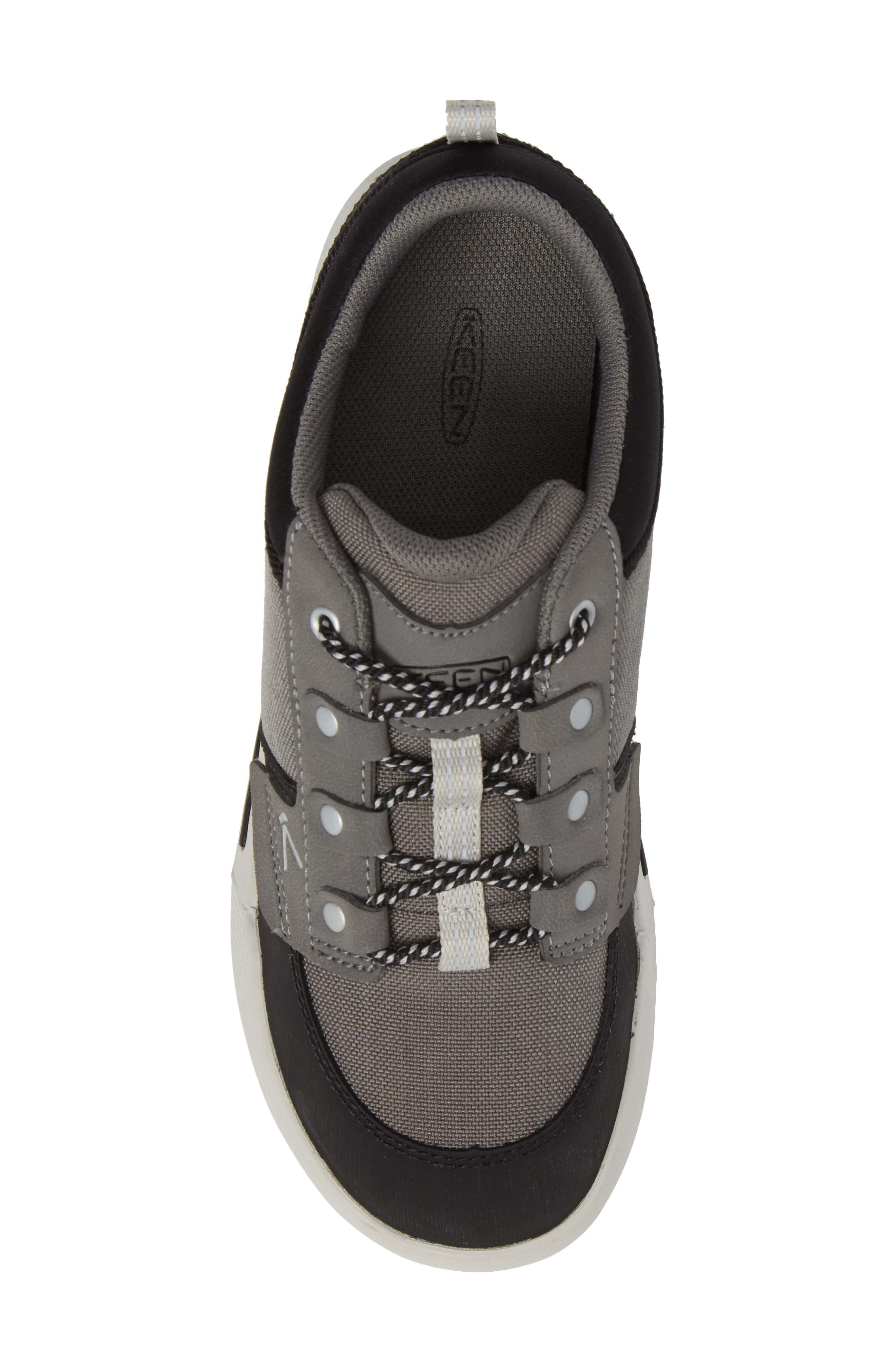 Encanto Wesley Sneaker,                             Alternate thumbnail 5, color,                             Gargoyle/ Black