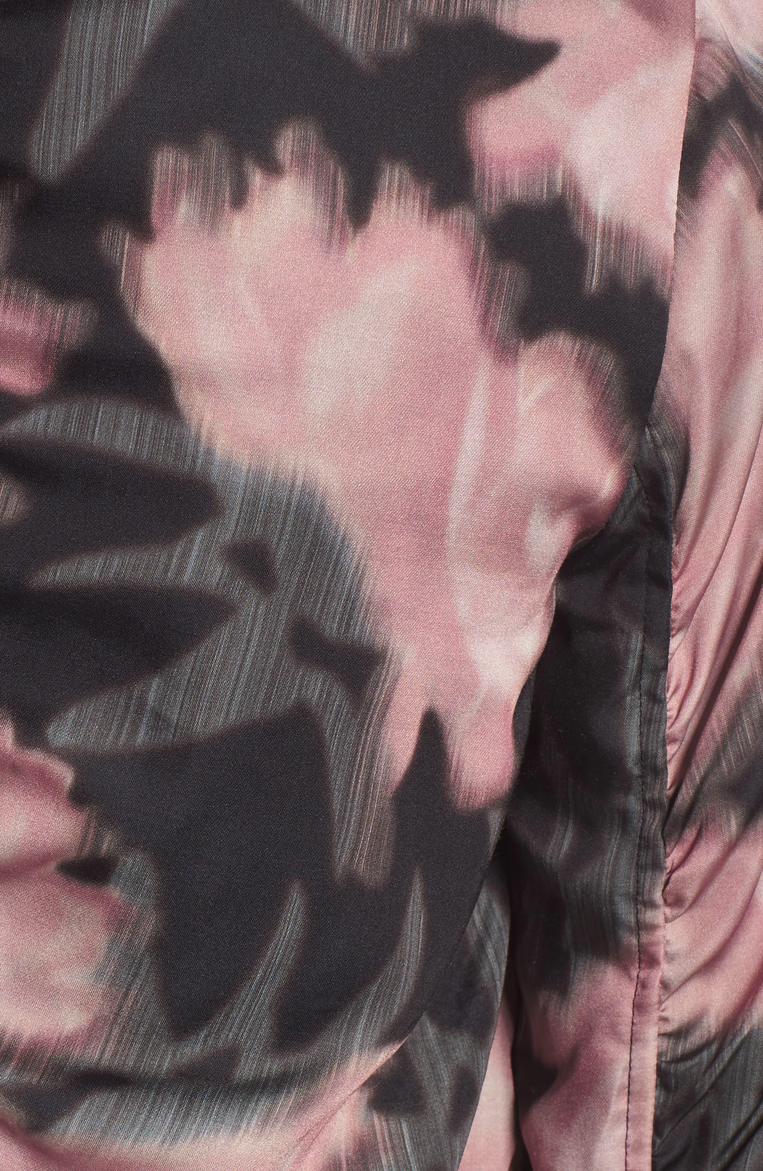 Alternate Image 5  - Joe's Denni Floral Bomber Jacket