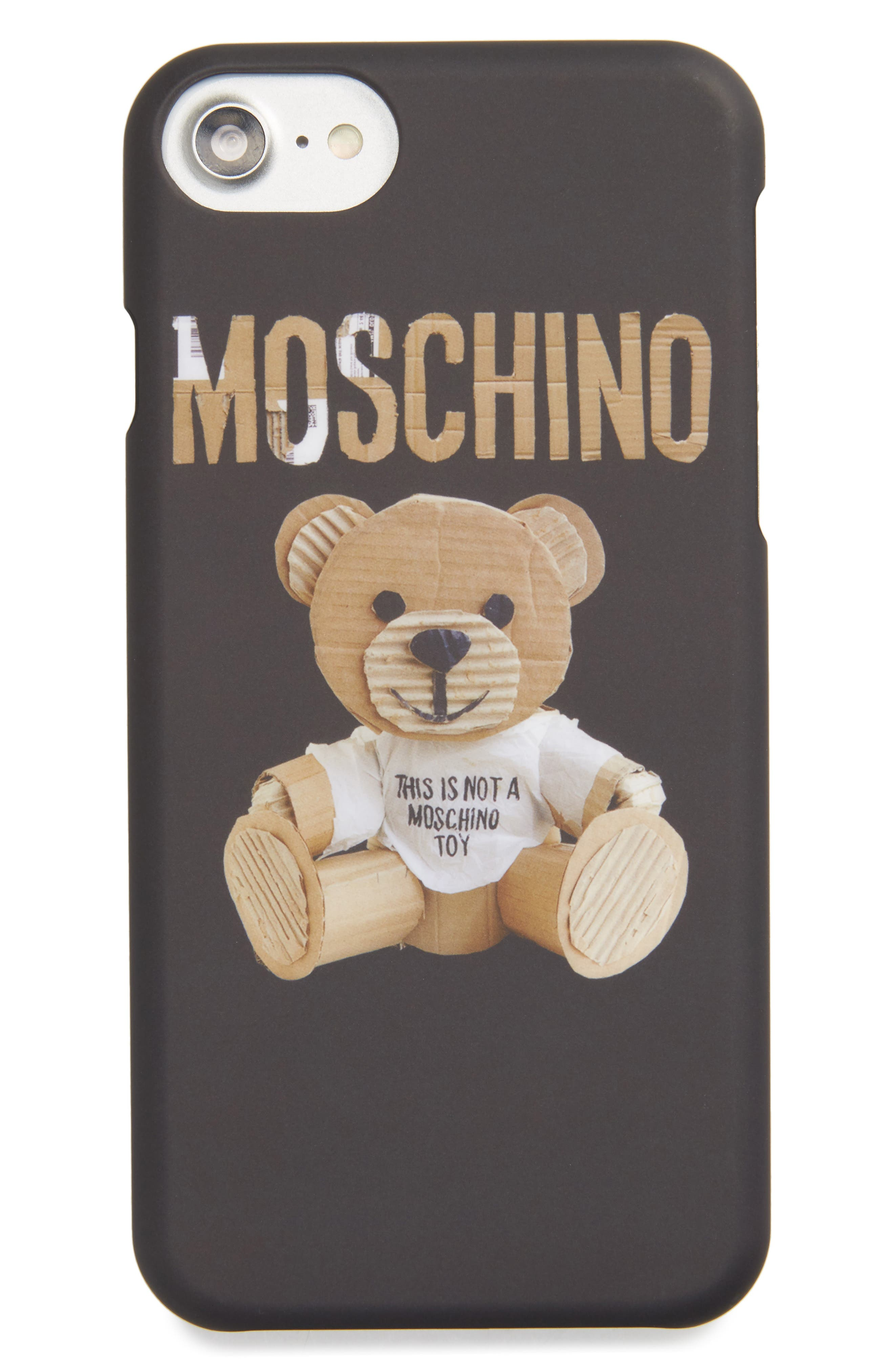 Moschino Bear Tape iPhone 6/6S & 7 Case