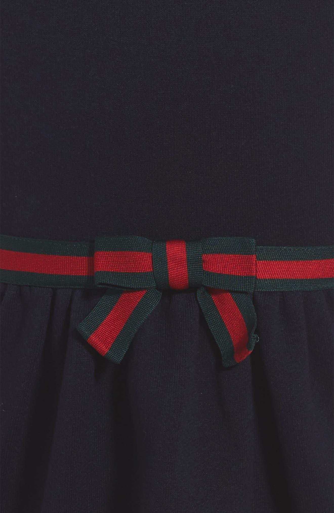 Alternate Image 3  - Gucci Stripe A-Line Dress (Little Girls & Big Girls)
