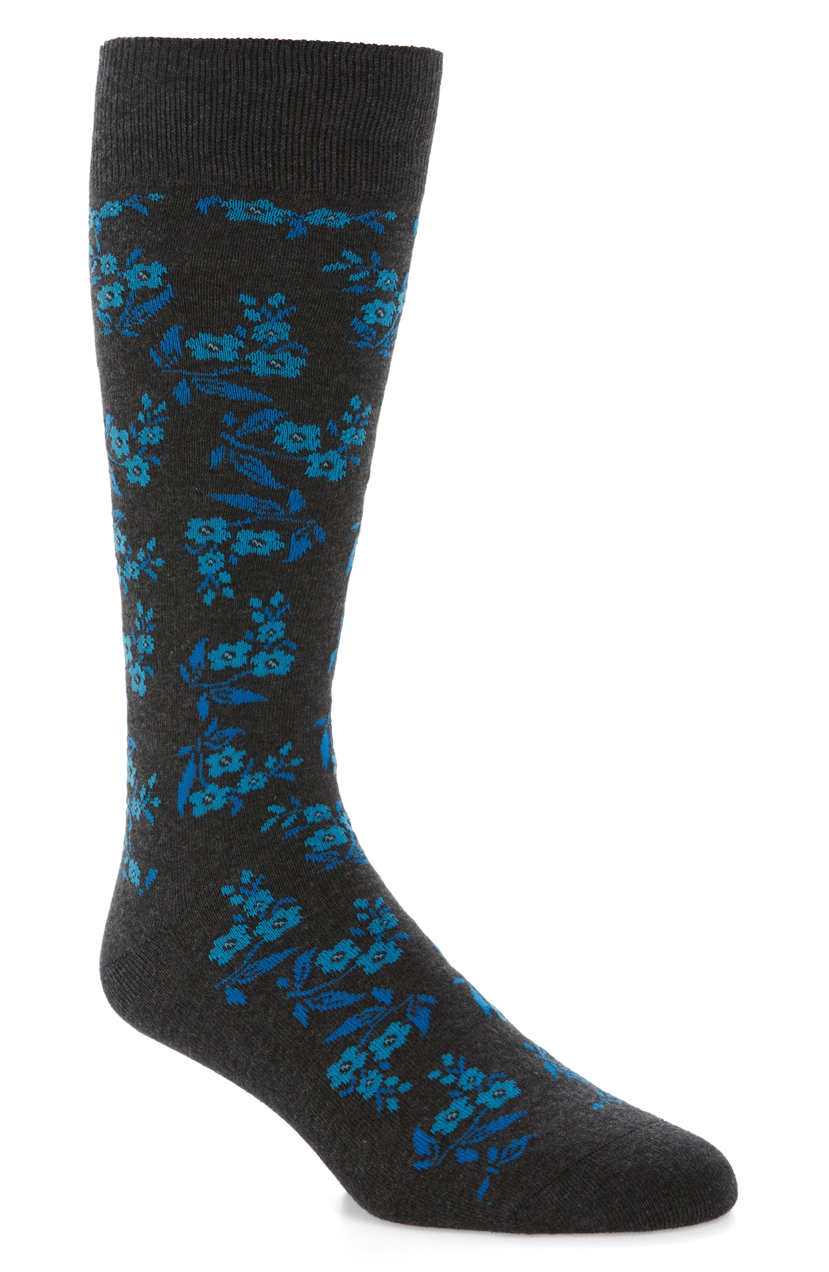 Calibrate Floral Socks