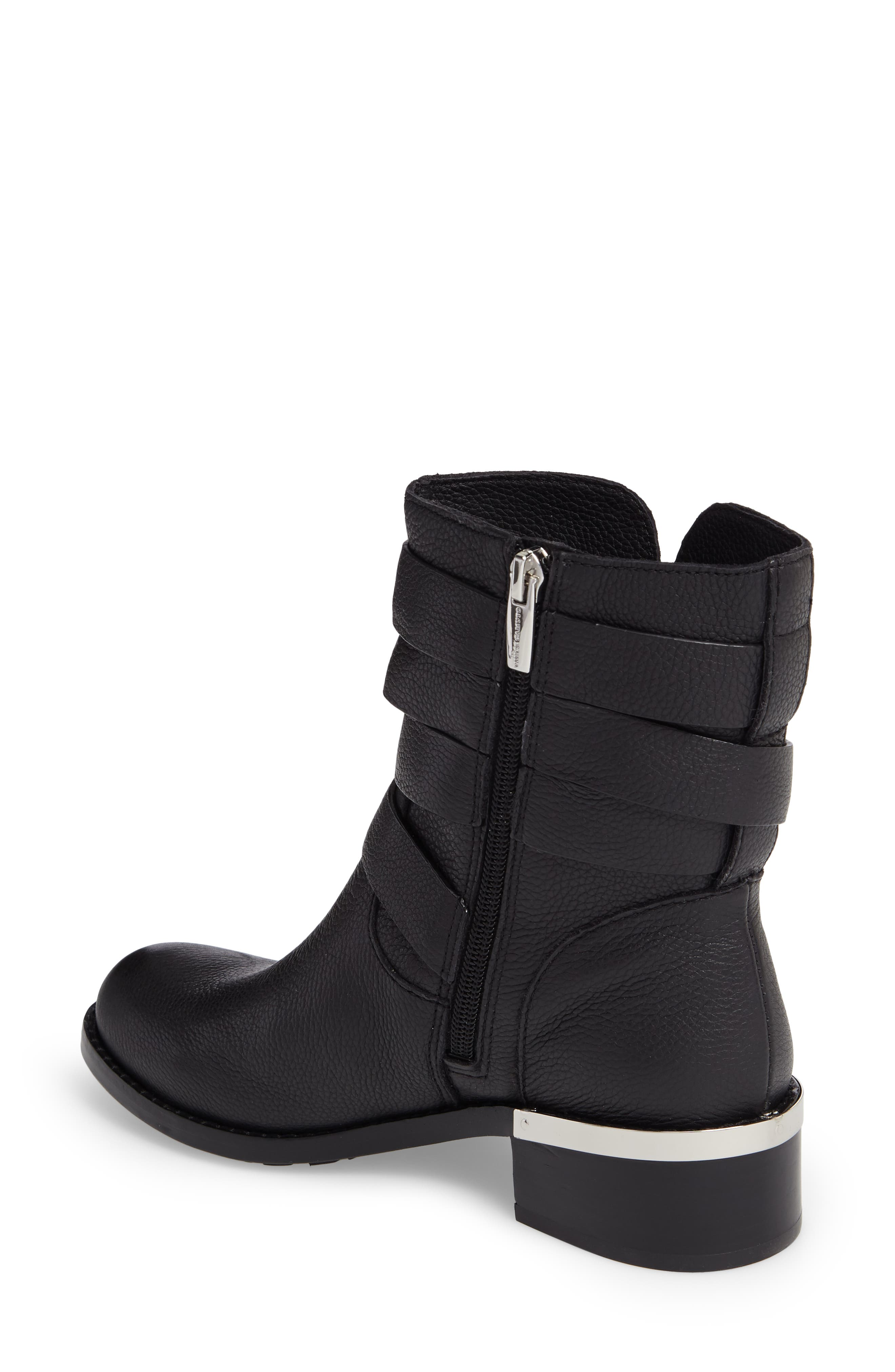 Webey Boot,                             Alternate thumbnail 2, color,                             Black Leather